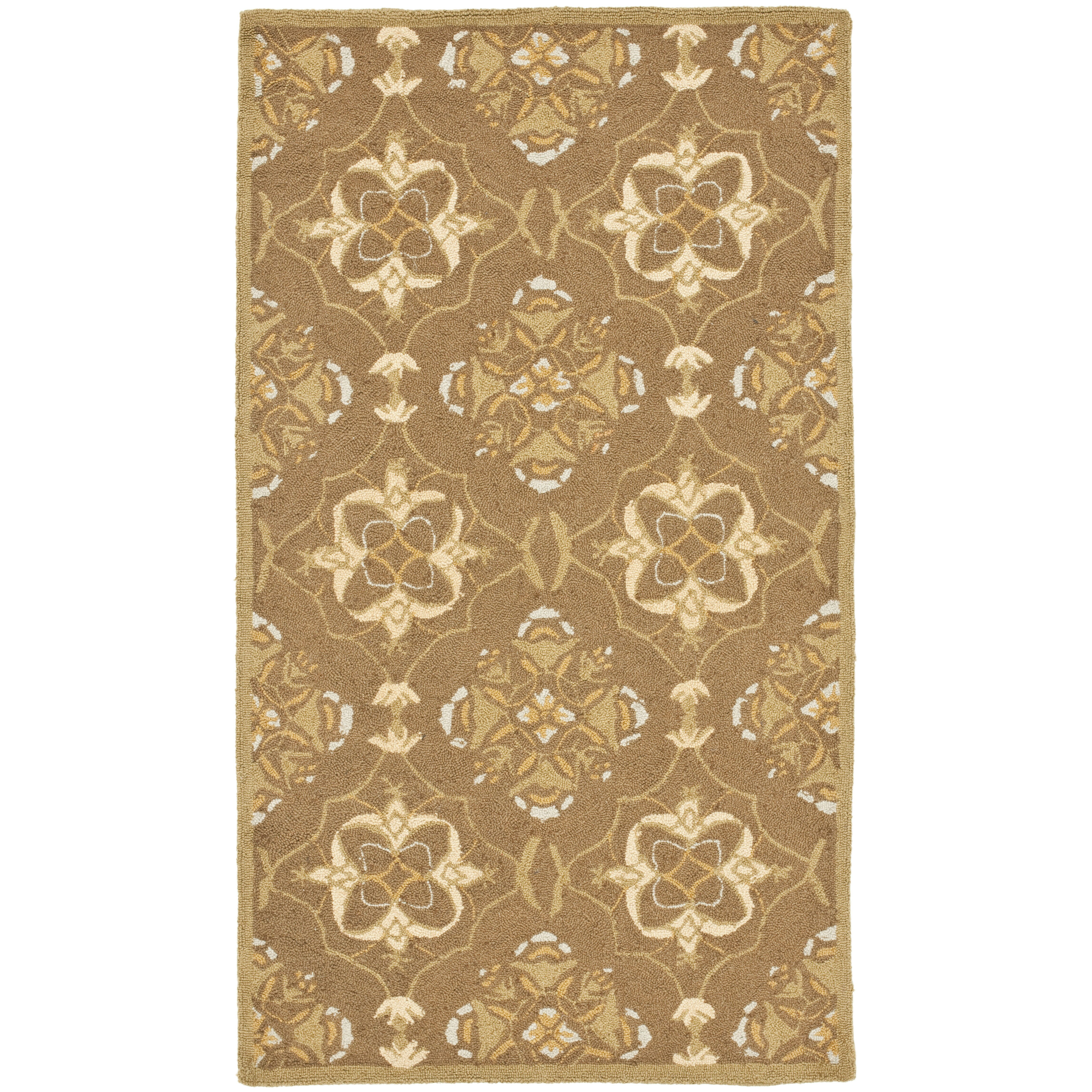Safavieh Chelsea Brown/Green Rug