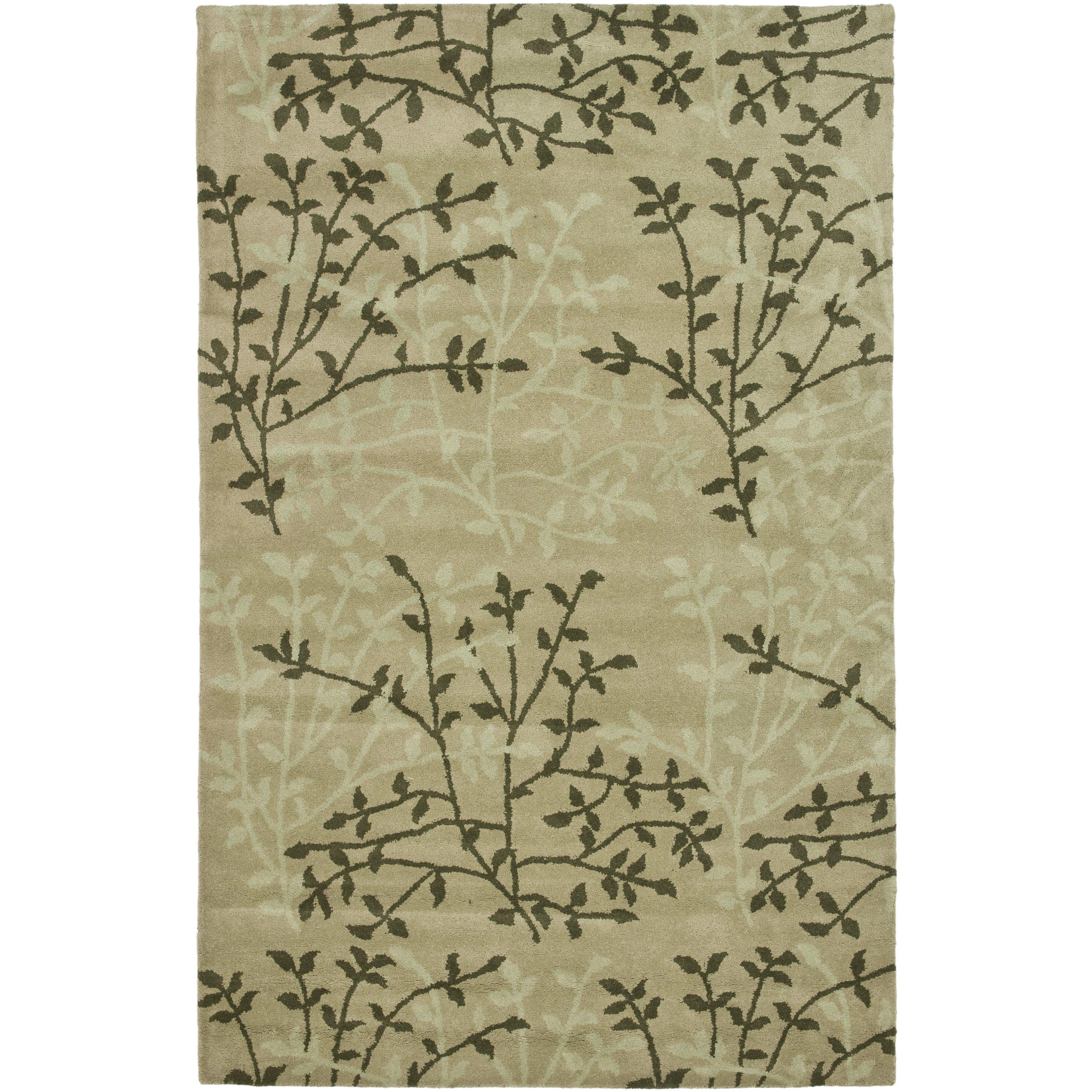 Safavieh Soho Green Floral Area Rug & Reviews
