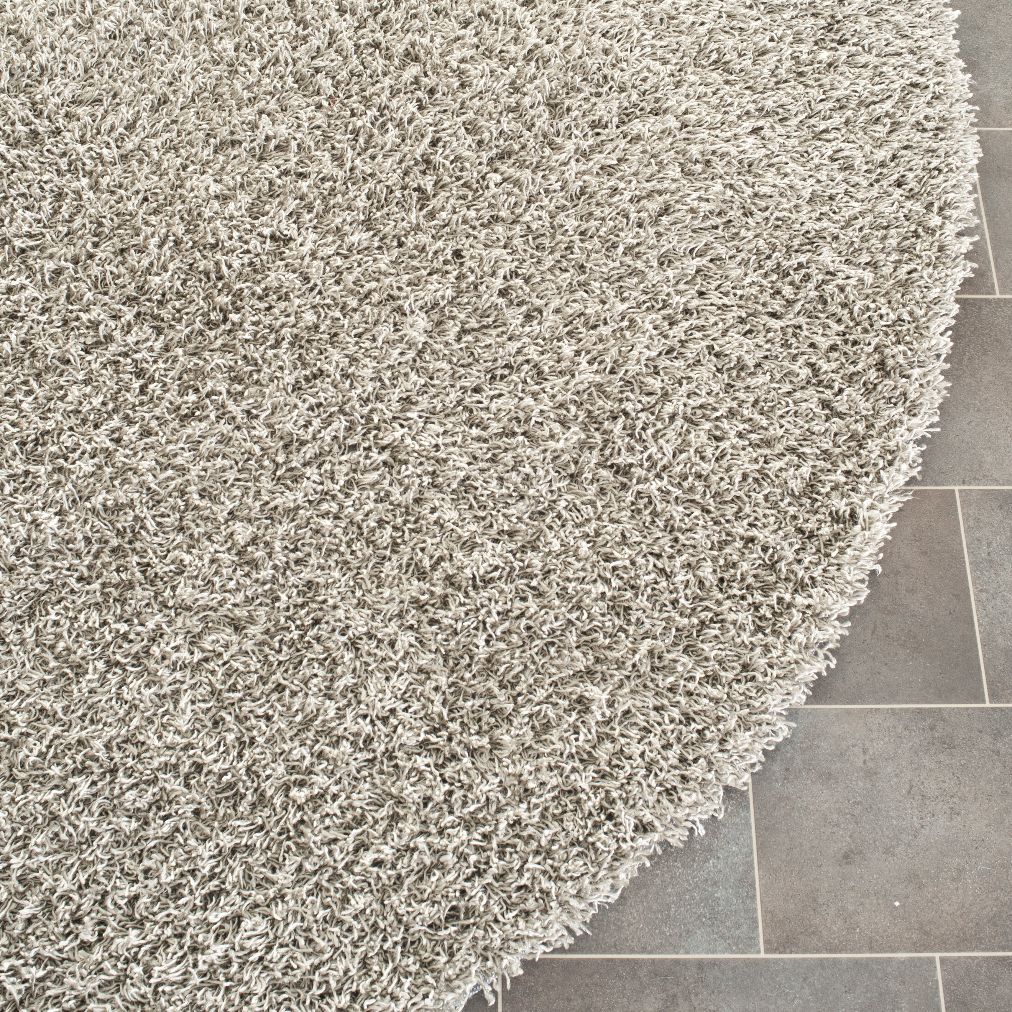 Silver area rugs rugstudio presents loloi vida shag vs for Accent rug vs area rug
