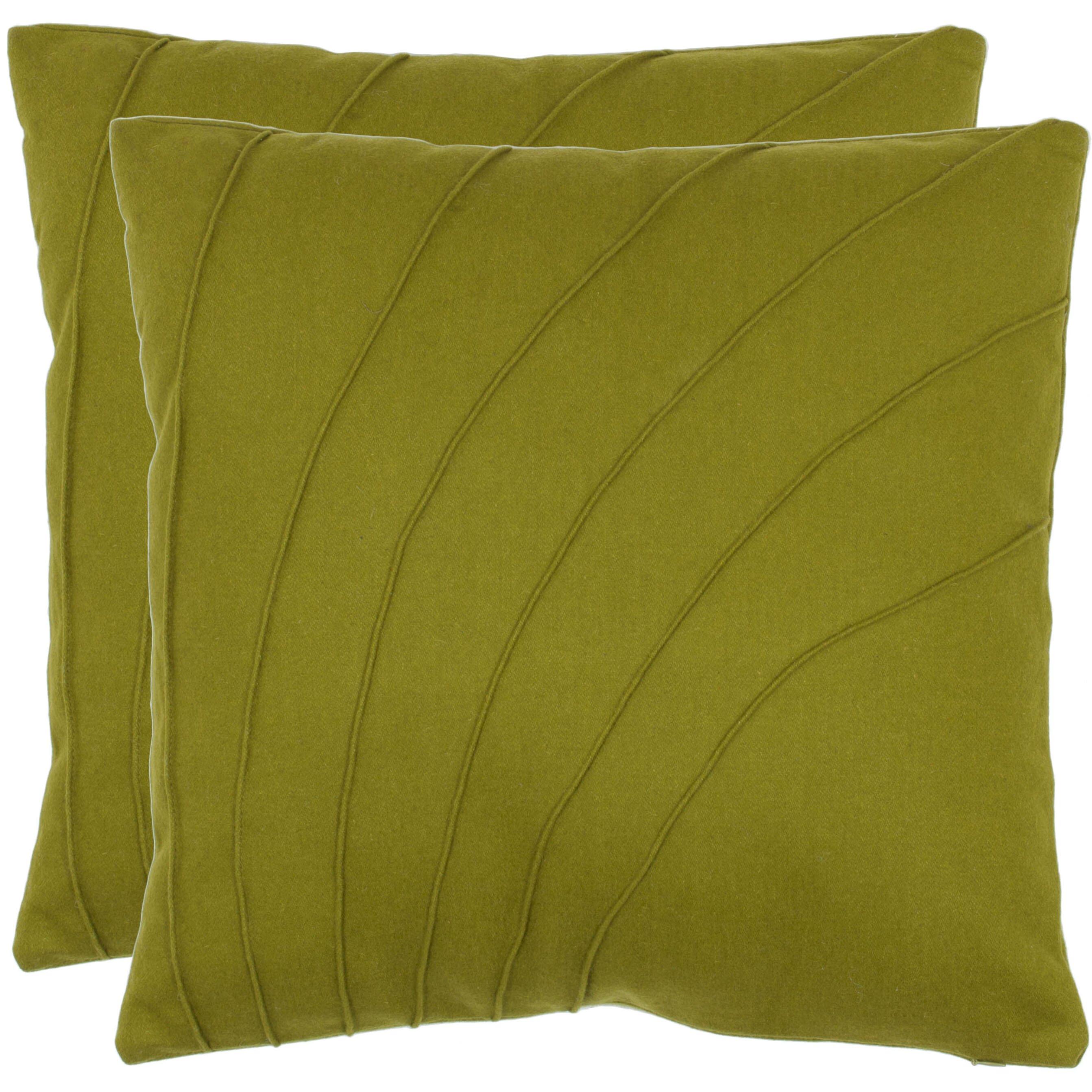Wayfair Green Throw Pillows : Safavieh Cruz Throw Pillow & Reviews Wayfair