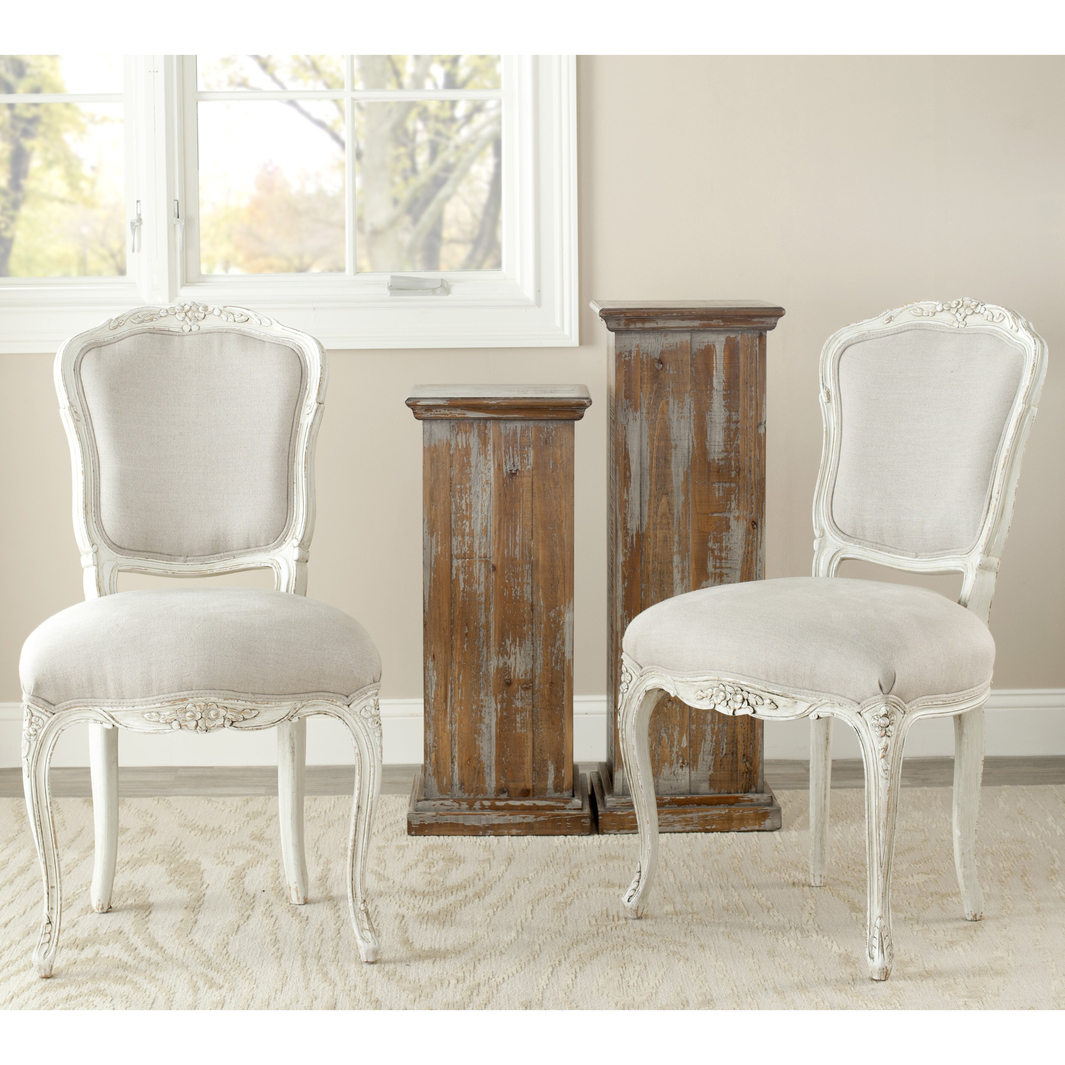 Side Chairs For Dining Room: Safavieh Yaretzi Side Chair & Reviews