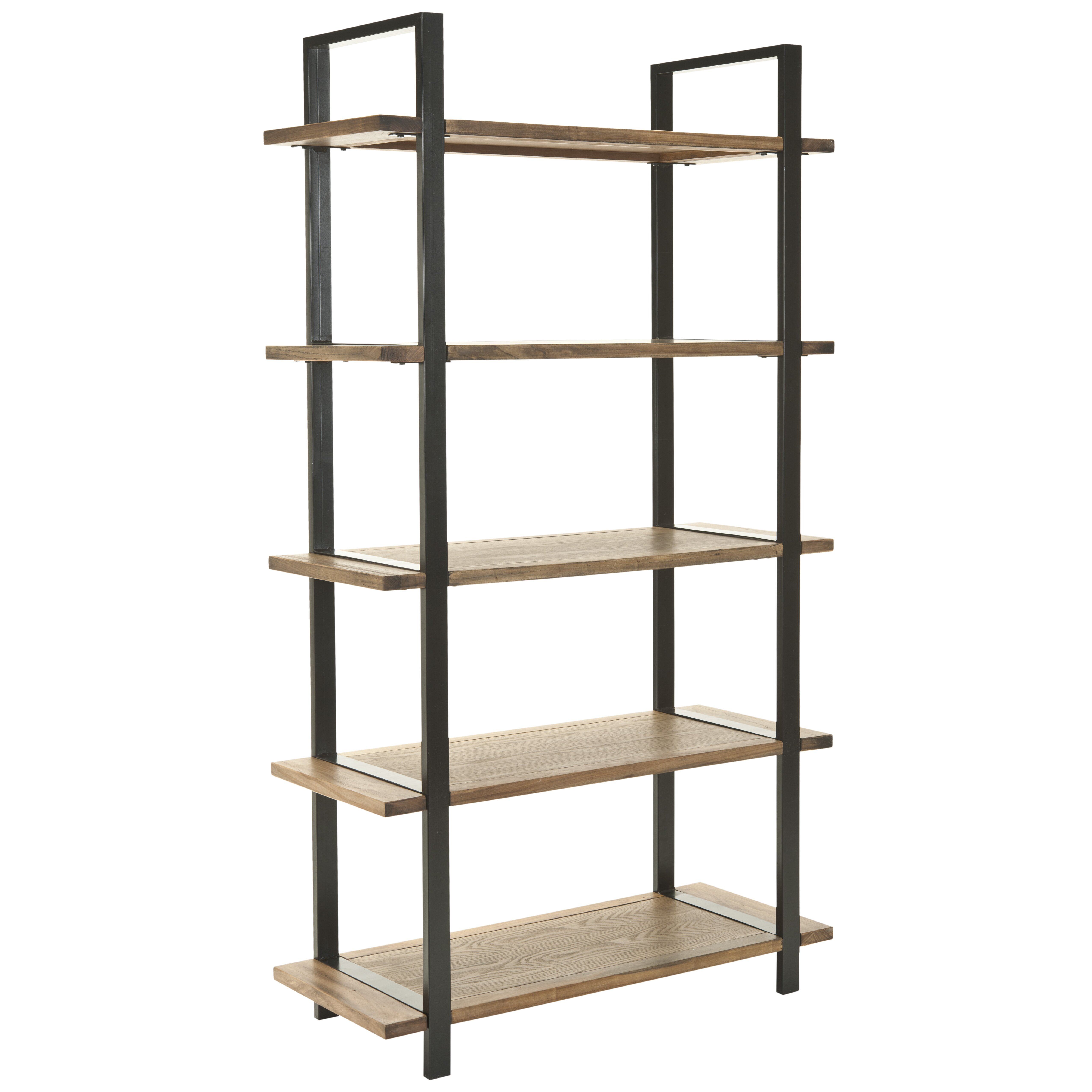 safavieh carol 65 etagere bookcase reviews wayfair. Black Bedroom Furniture Sets. Home Design Ideas