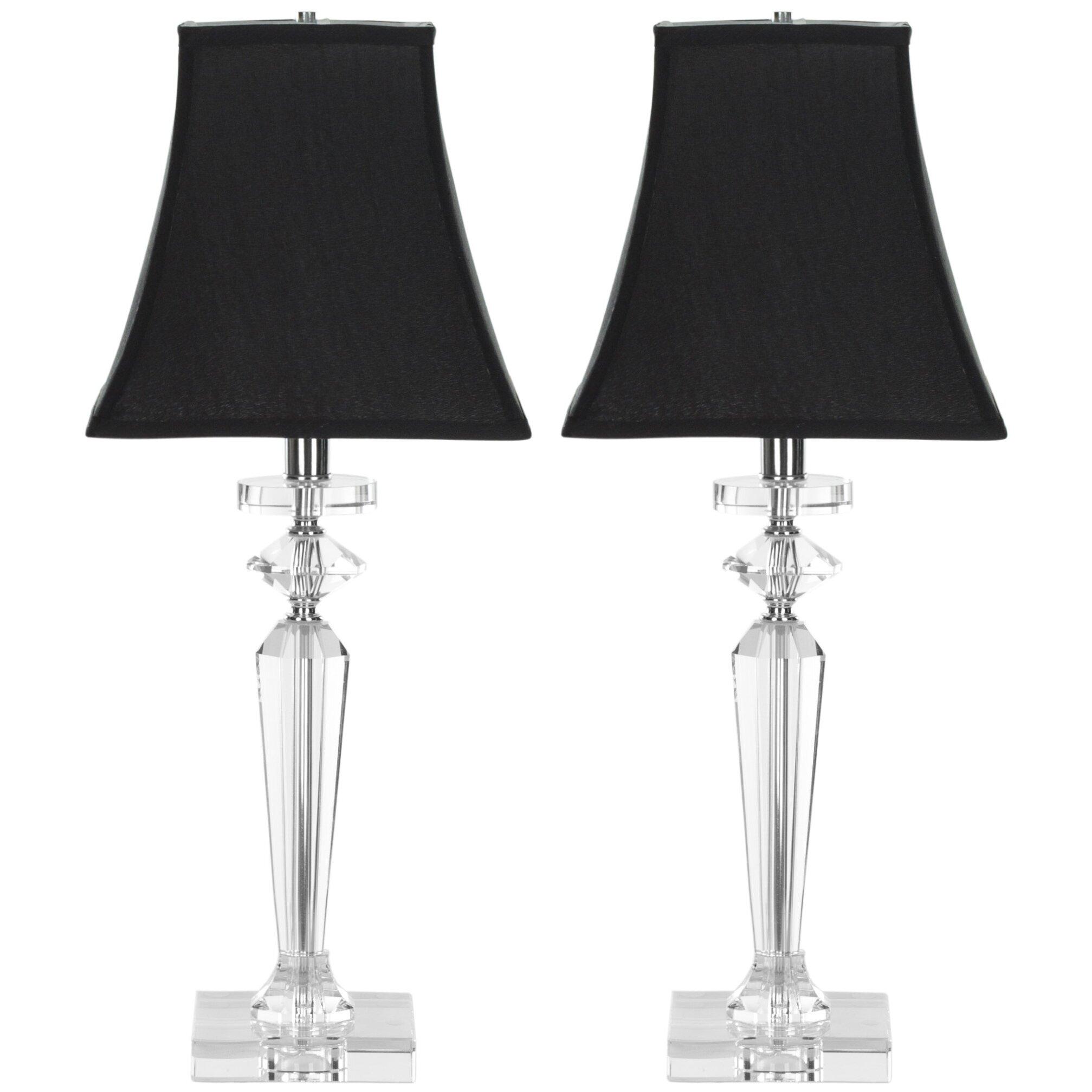 lighting lamps table lamps safavieh sku fv22380. Black Bedroom Furniture Sets. Home Design Ideas