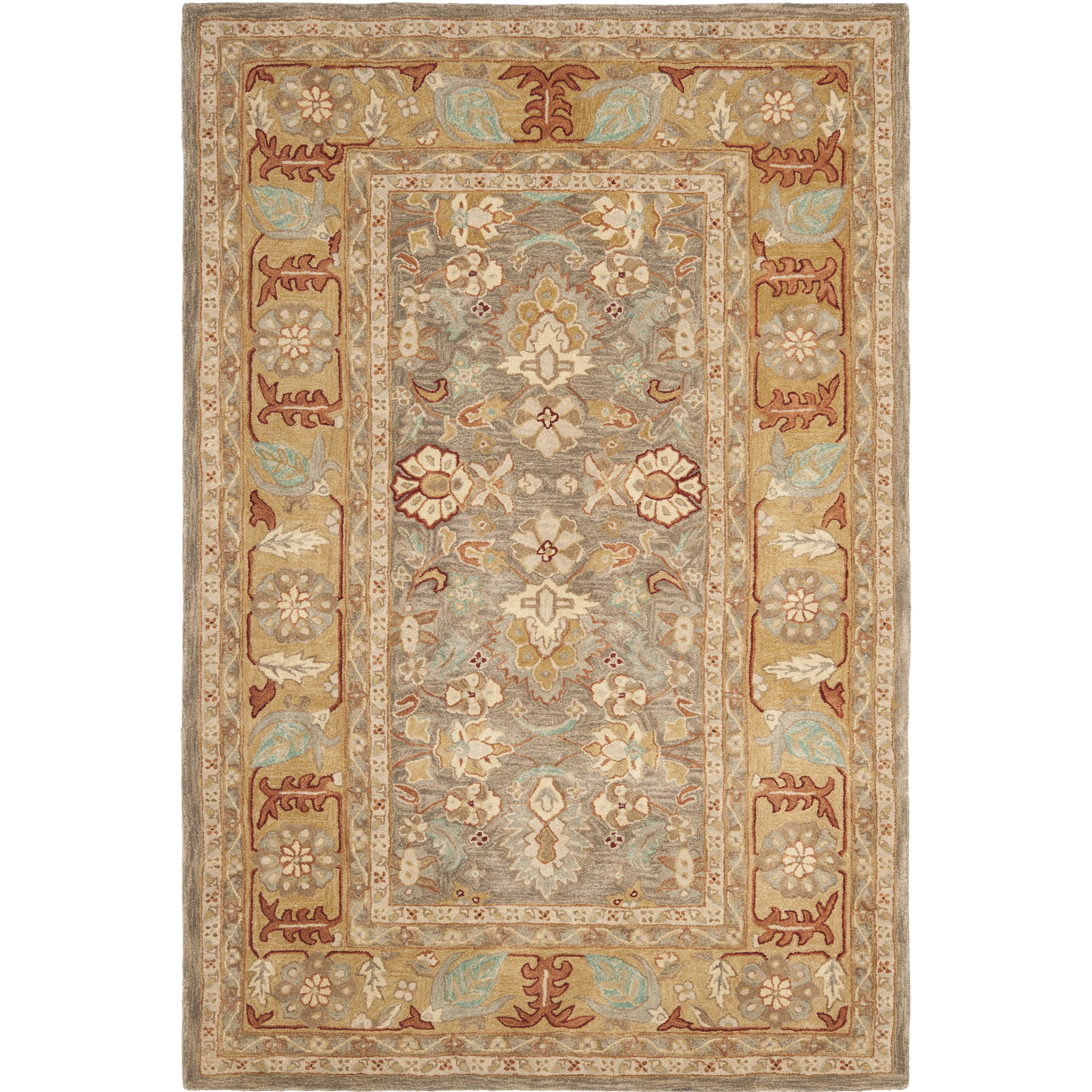 Shop Linon Moroccan Mekenes Camel Brown Rug: Safavieh Anatolia Brown/Camel Area Rug & Reviews