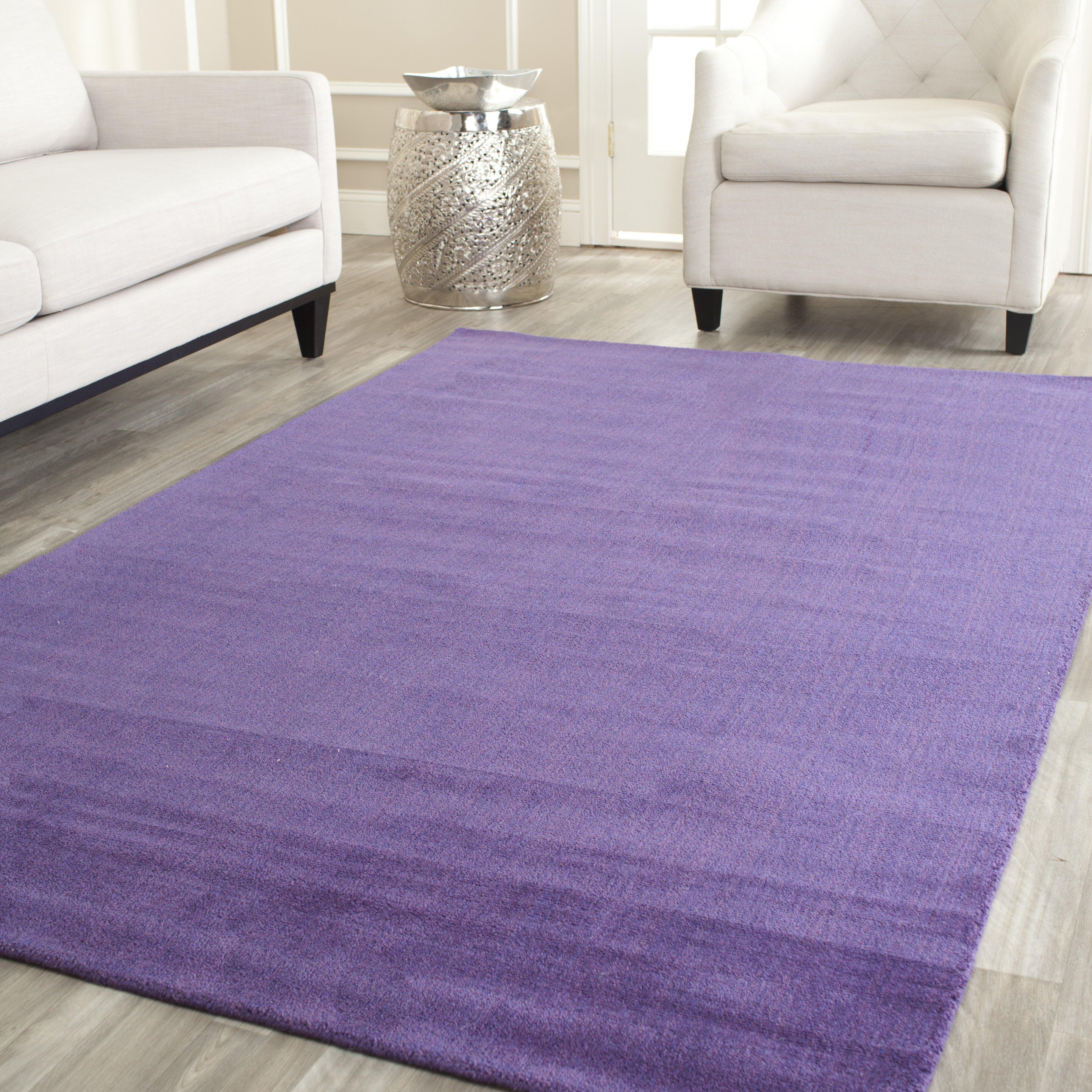 Purple And Lavender Rug: Safavieh Himalayan Purple Area Rug & Reviews