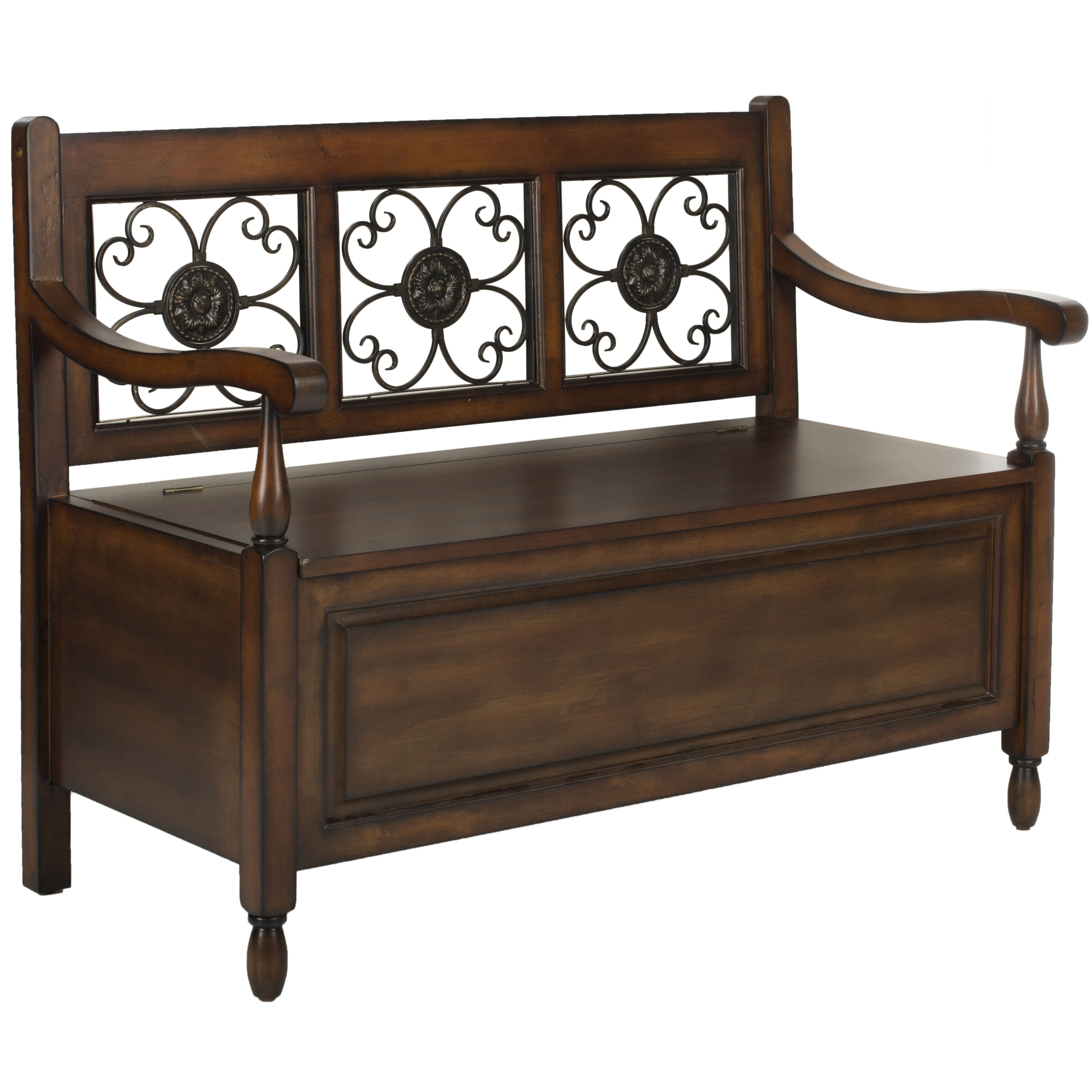Safavieh Erica Wood Storage Entryway Bench Reviews Wayfair