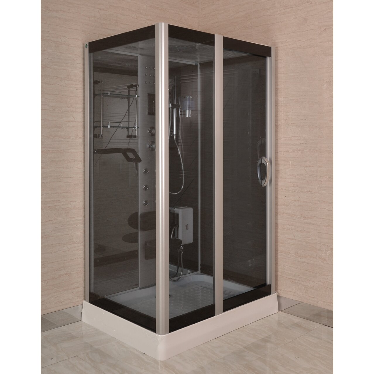 "Kokss 48"" X 36"" X 84.5"" Rectangle Shower Enclosure"