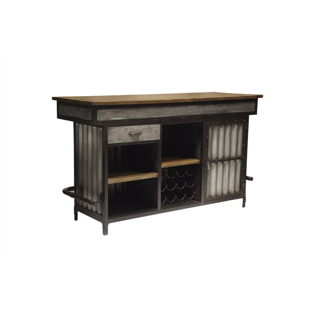 Highway Renegade Bar Cabinet & Reviews