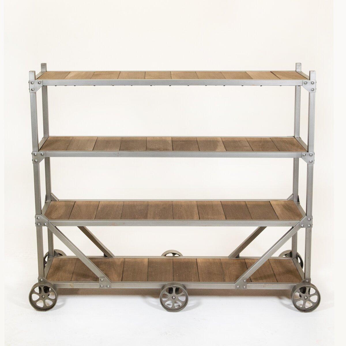 Rezfurniture Stationary Serving Cart Wayfair