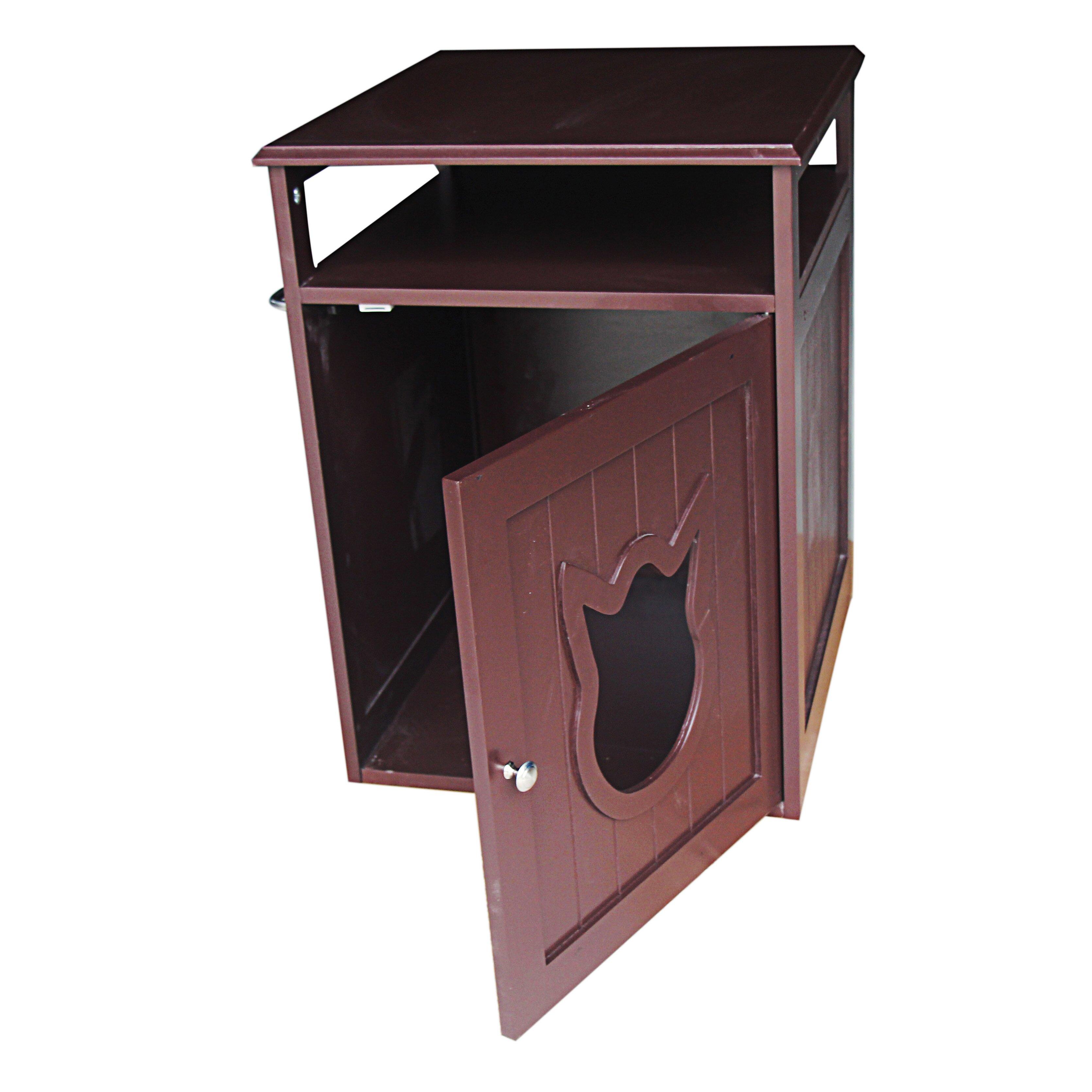 pethuphup kitty cat litter box reviews wayfair. Black Bedroom Furniture Sets. Home Design Ideas