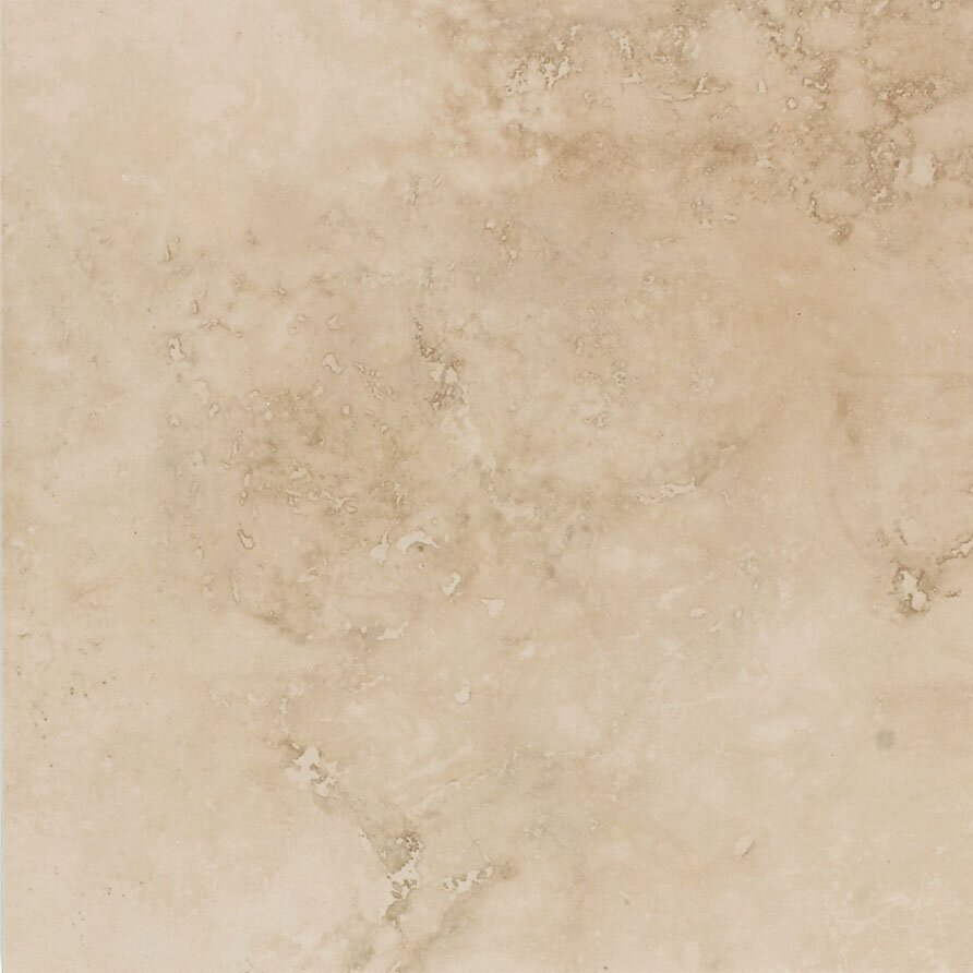 Mohawk mirador 13 x 13 porcelain field tile in cameo for Ceramic flooring