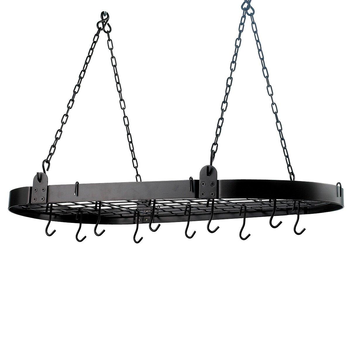 Old Dutch Oval Hanging Pot Rack Reviews Wayfair