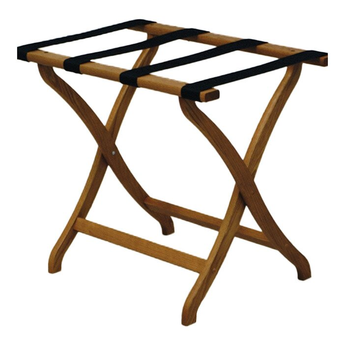 Wooden Mallet Deluxe Contour Leg Luggage Rack Reviews Wayfair