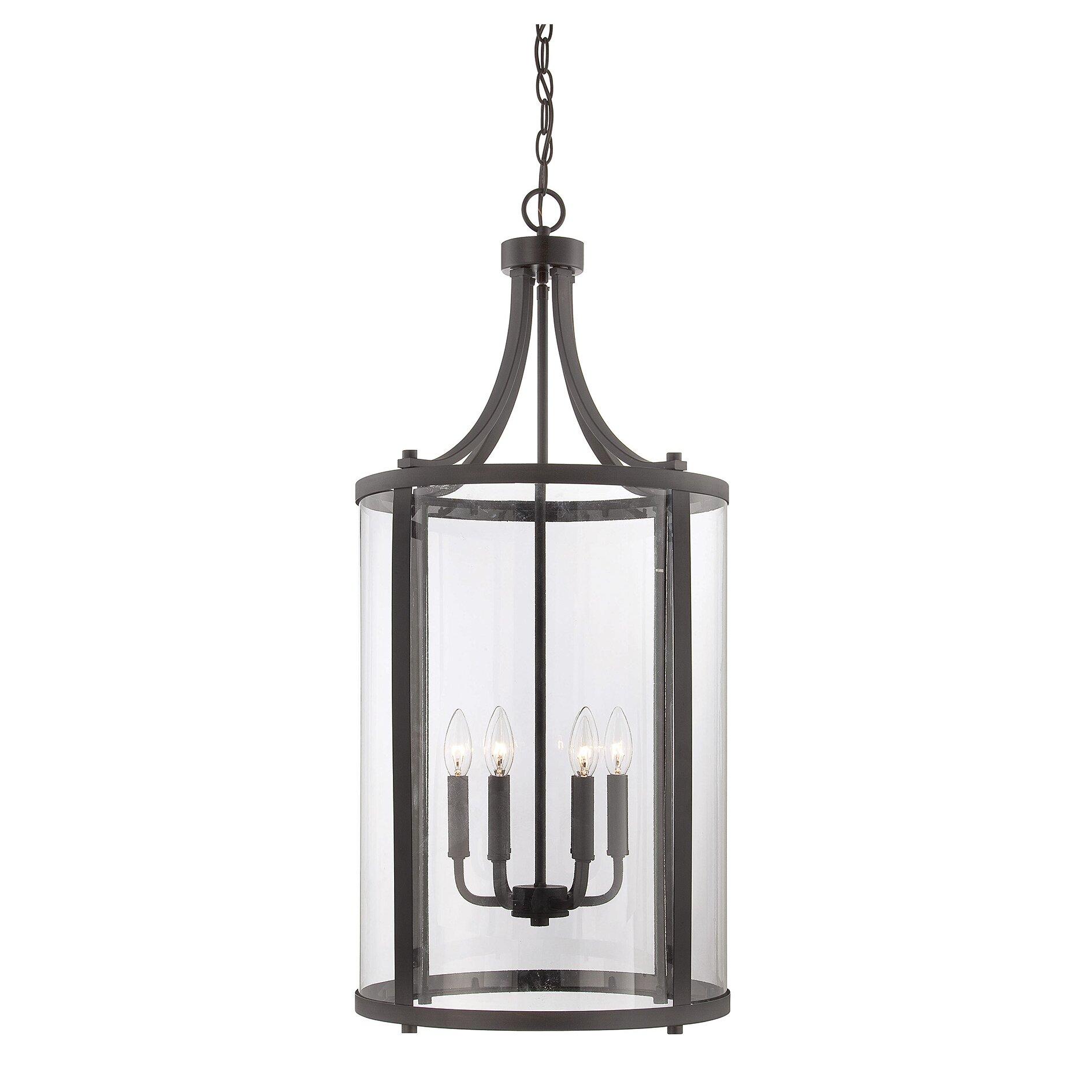 Savoy house penrose 6 light medium foyer lantern reviews for Savoy house