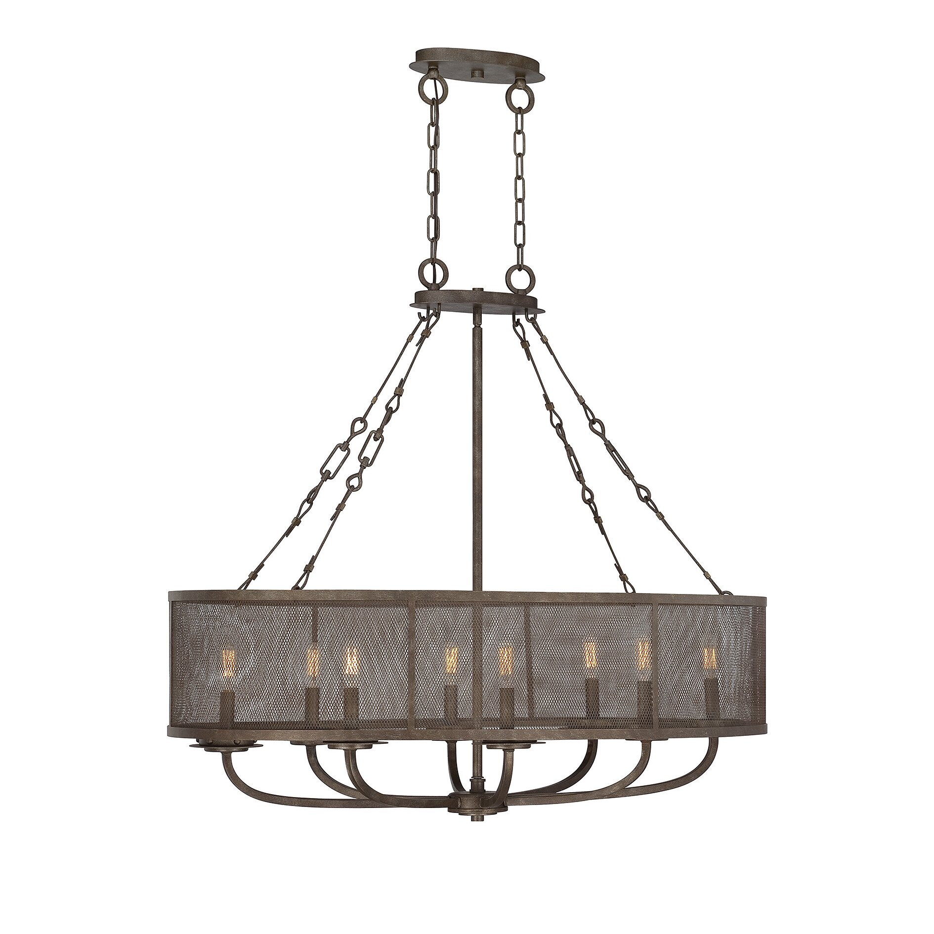 Savoy House Nouvel 8 Light Candle Chandelier Reviews