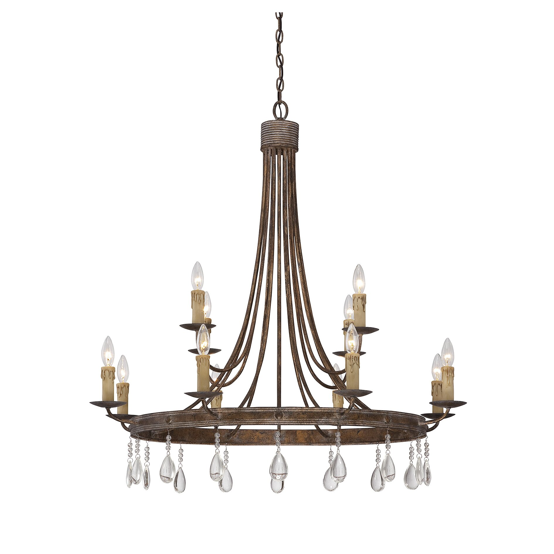 Savoy house carlisle 12 light candle chandelier reviews for Www savoyhouse com