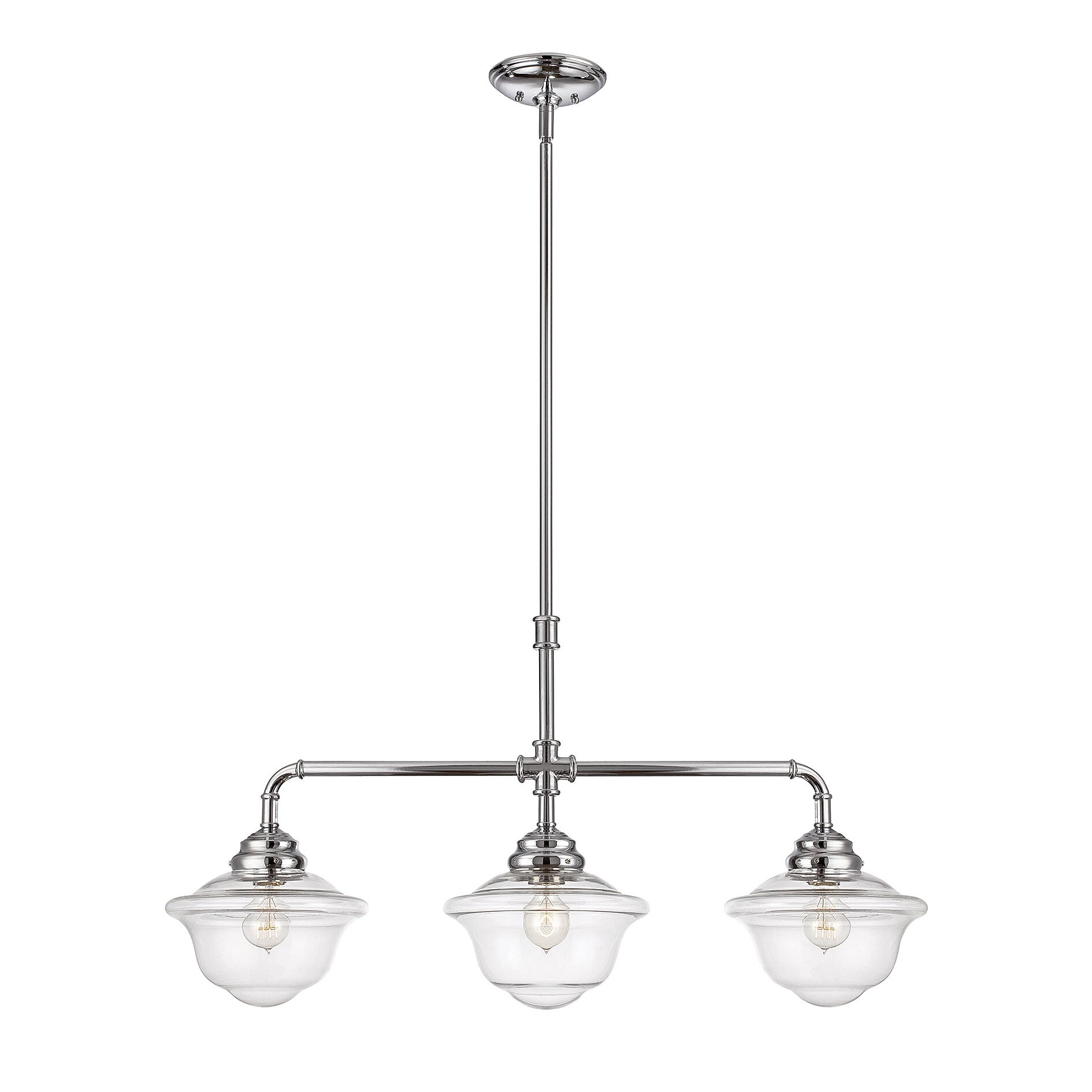 Kitchen Island Pendant Lighting: Trent Austin Design Davis 3 Light Kitchen Island Pendant