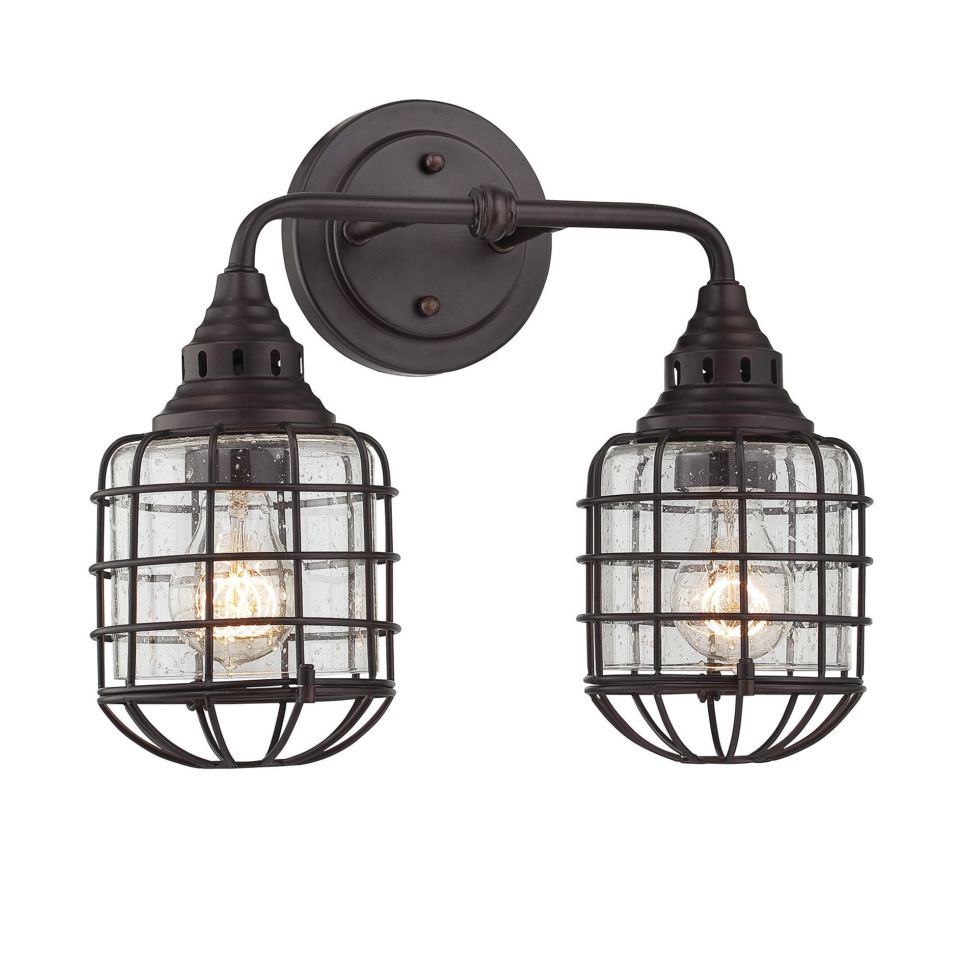 Savoy house connell 2 light vanity light reviews wayfair for Savoy house