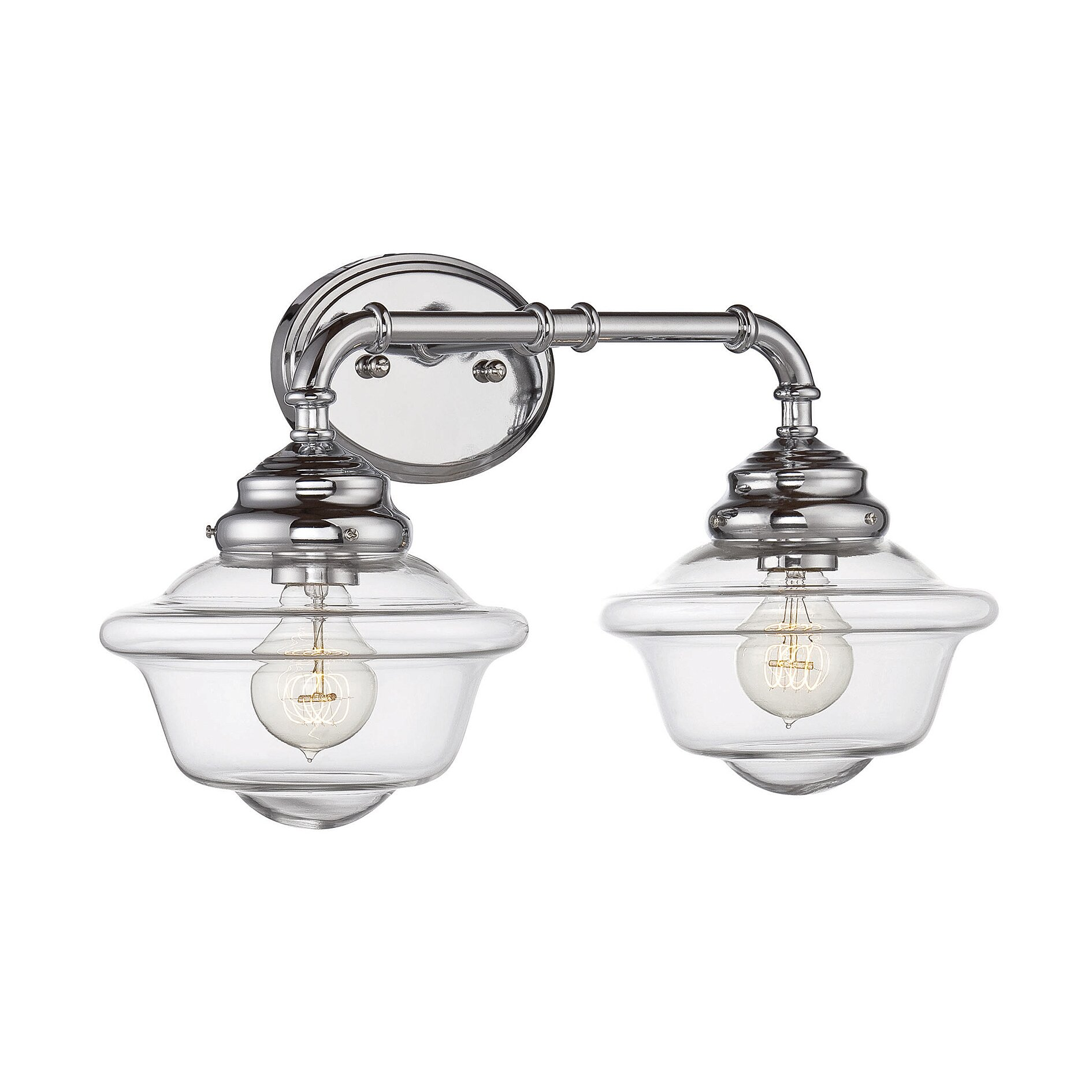 Savoy house fairfield 2 light vanity light reviews wayfair for Www savoyhouse com
