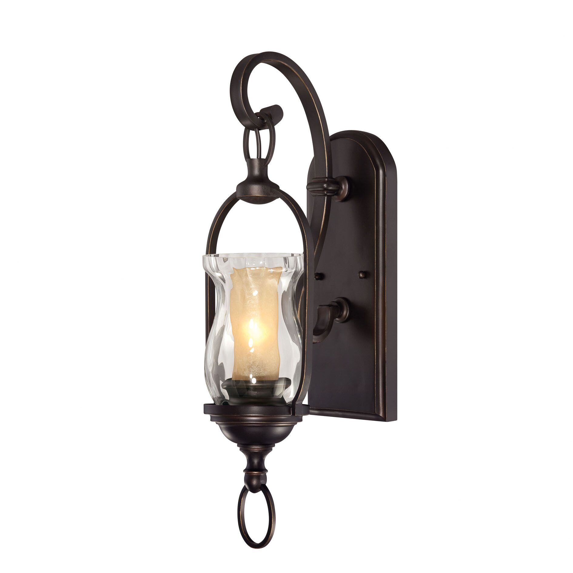 Savoy House Shadwell 1 Light Wall Sconce & Reviews