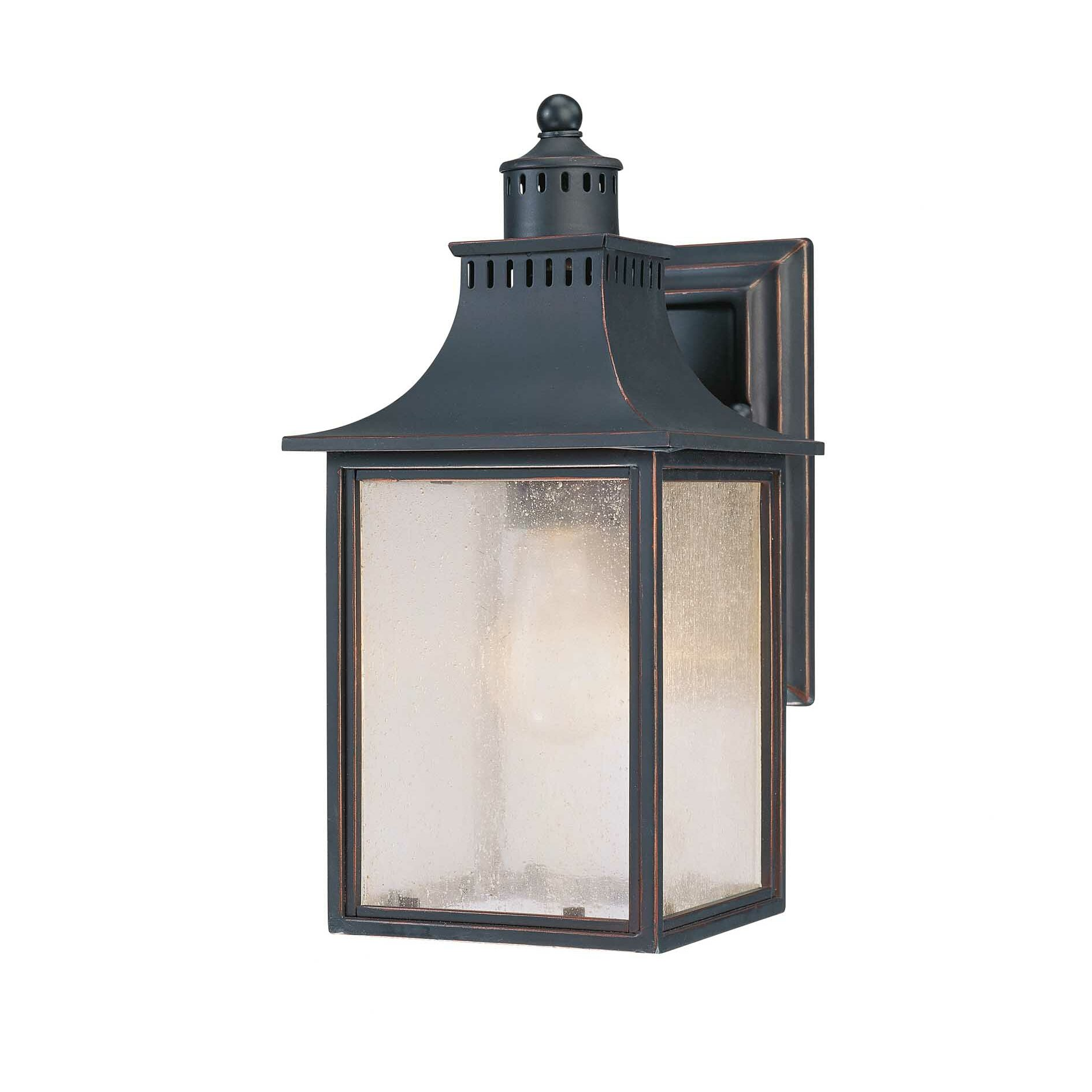 Wayfair Outdoor Wall Lights : Savoy House Monte Grande 1 Light Outdoor Wall Lantern & Reviews Wayfair