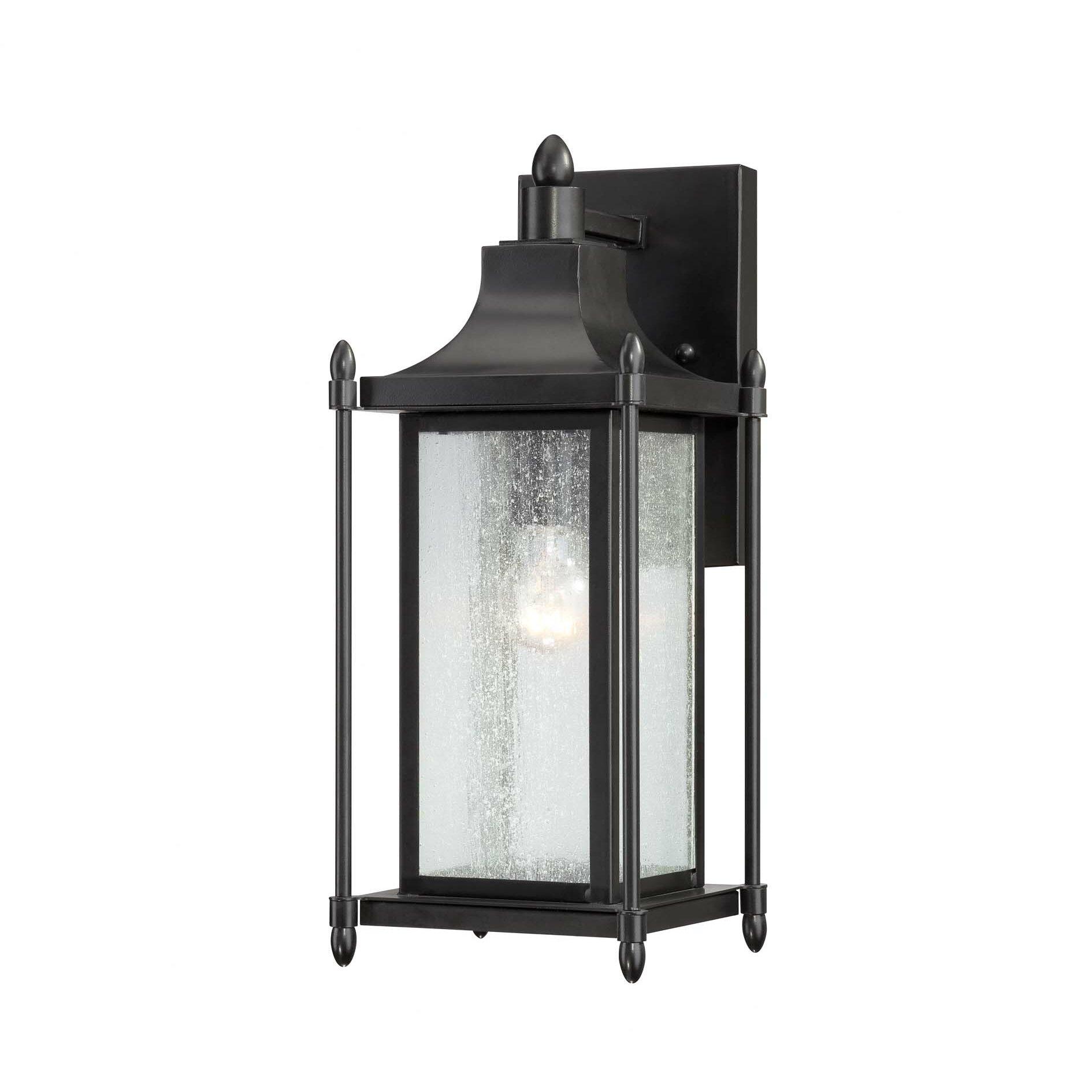 Savoy House Dunnmore 1 Light Outdoor Wall Lantern & Reviews Wayfair