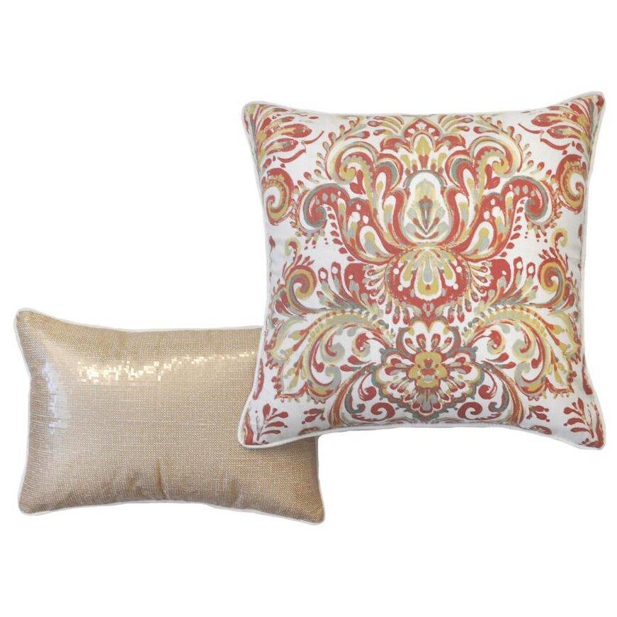 Envogue Decorative Pillows : Envogue Mika 5 Piece Reversible Comforter Set Wayfair
