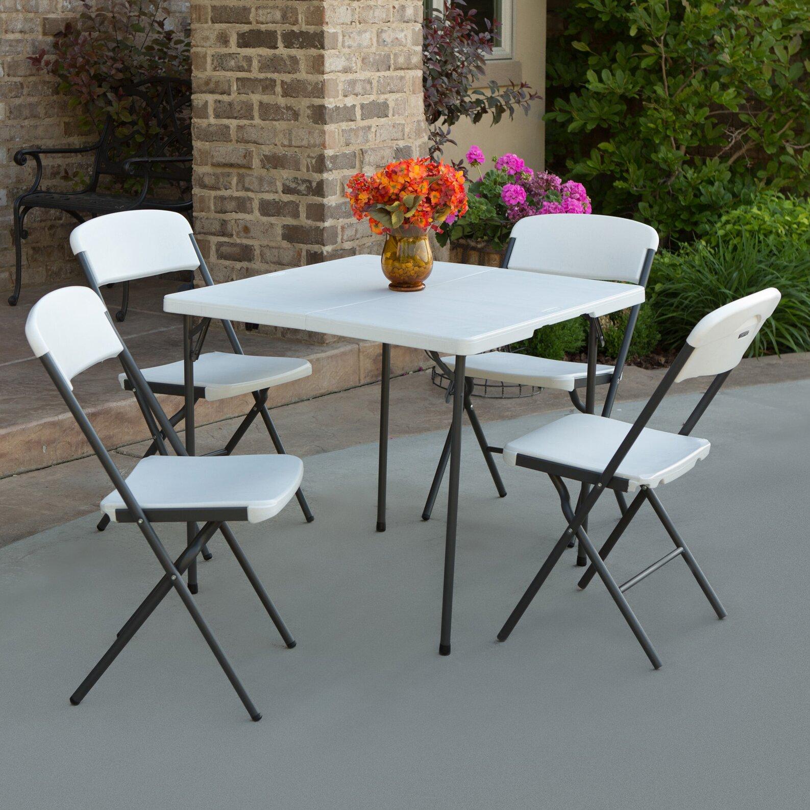 Lifetime Contemporary Essential Folding Chair Wayfair
