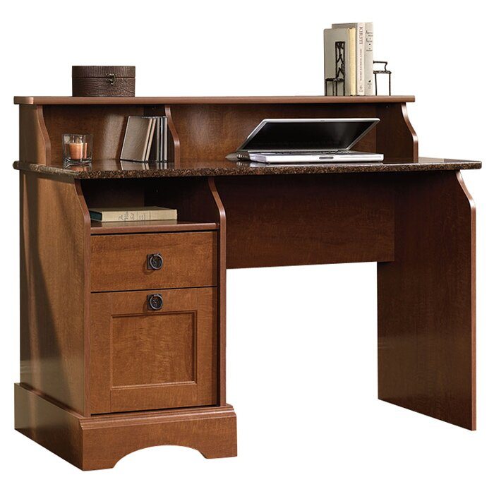 Sauder Graham Hill Writing Desk With 2 Storage Drawers