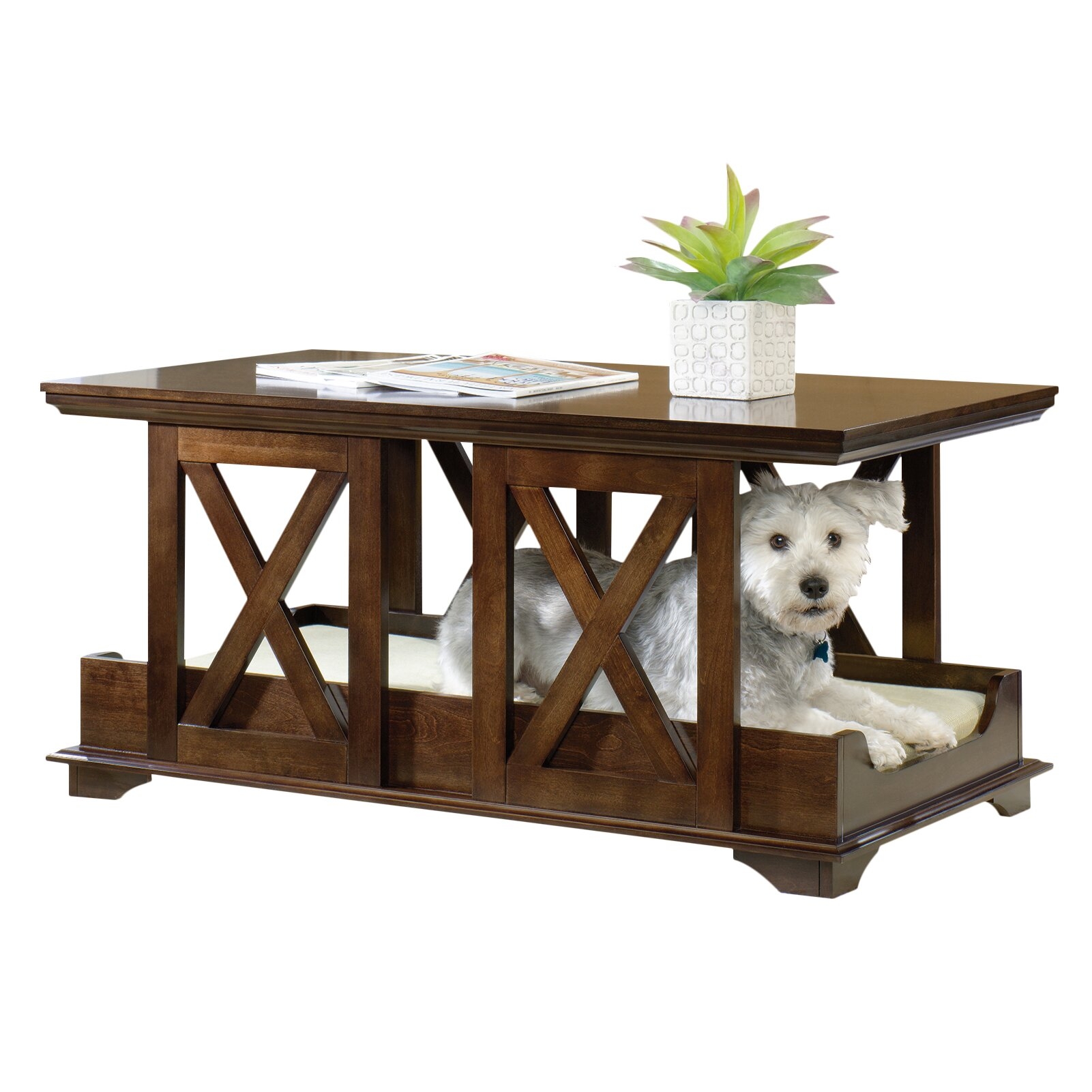 sauder coffee table dog bed reviews wayfair