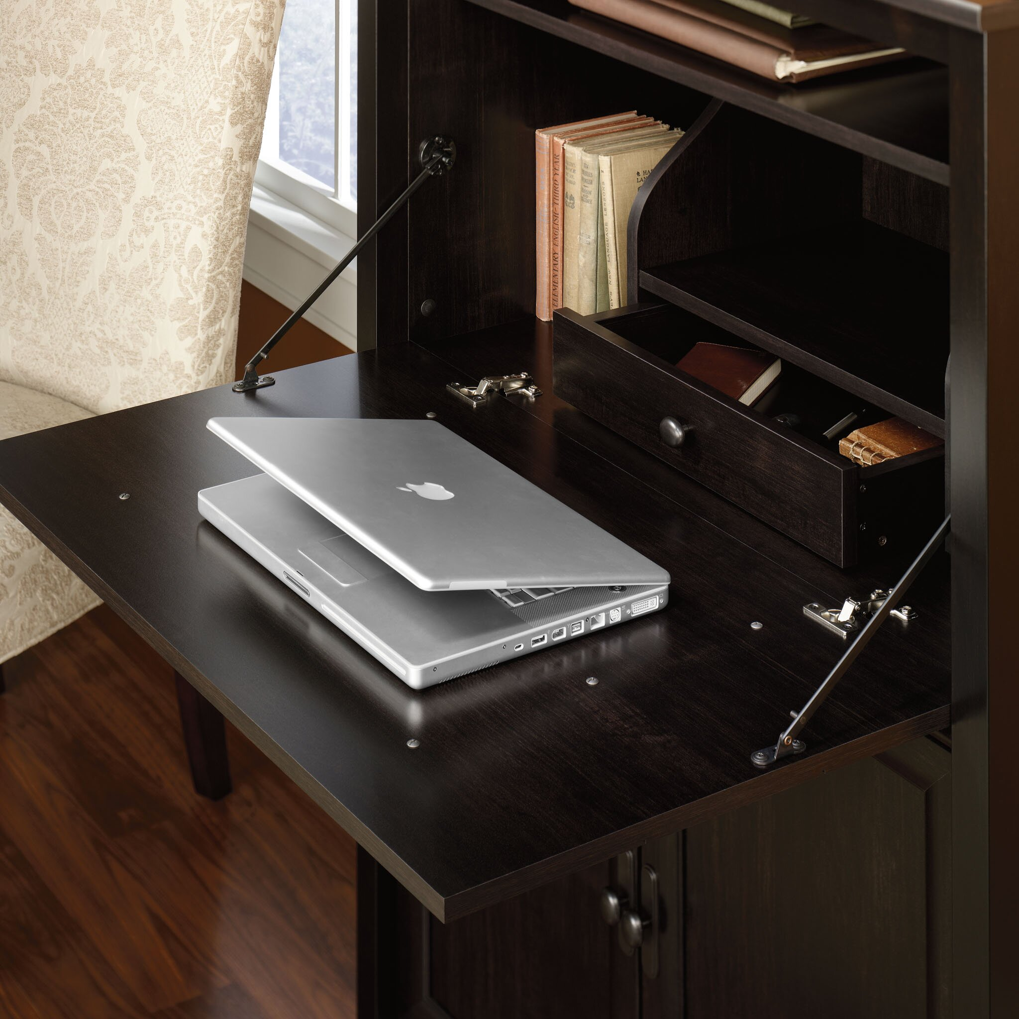 Sauder Edge Water Secretary Desk & Reviews