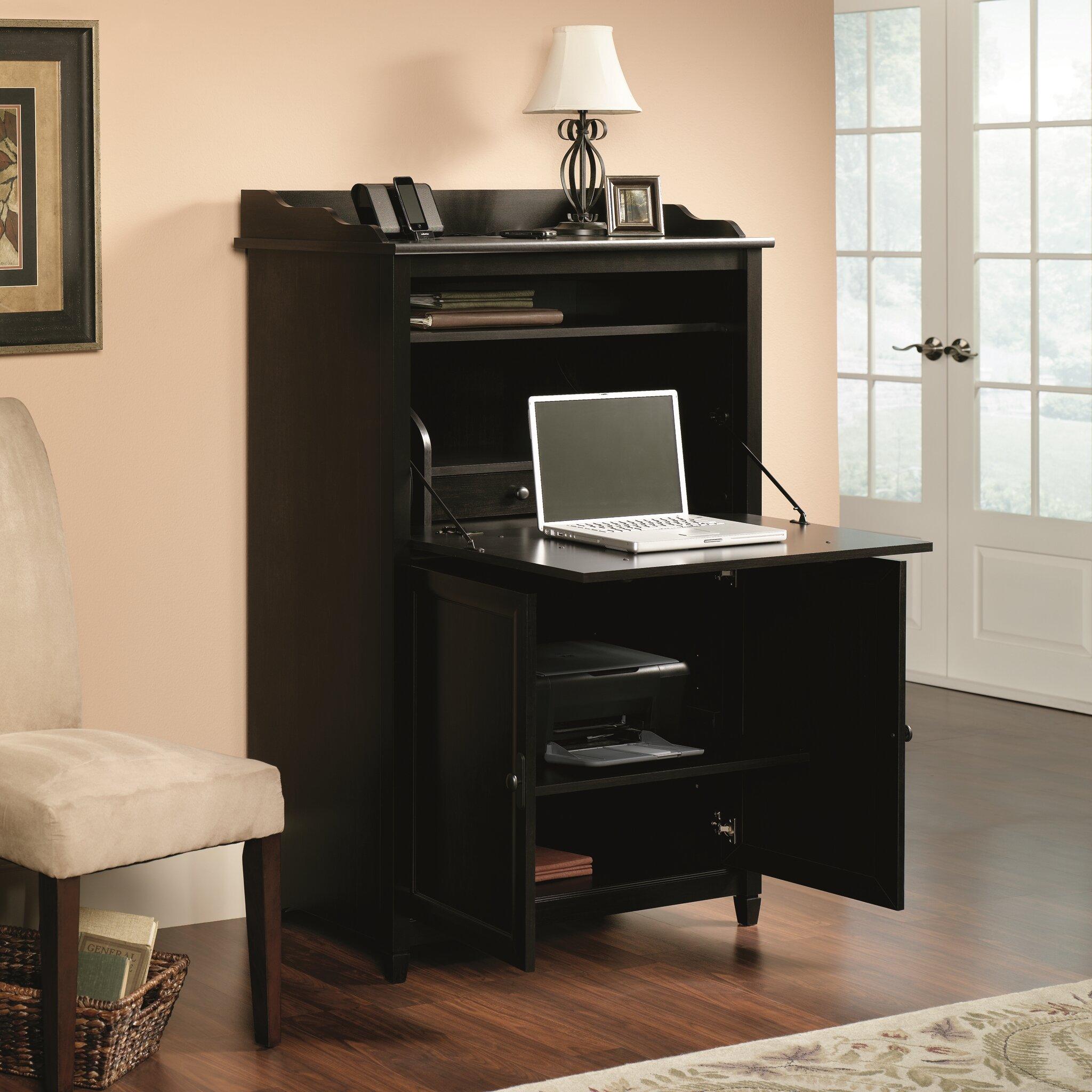 Sauder Edge Water Secretary Desk Amp Reviews Wayfair