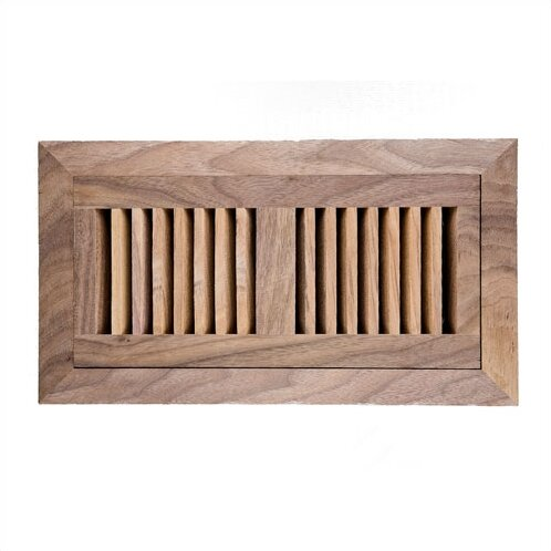 Image wood vents x american walnut wood flush for 3 bathroom vent cover