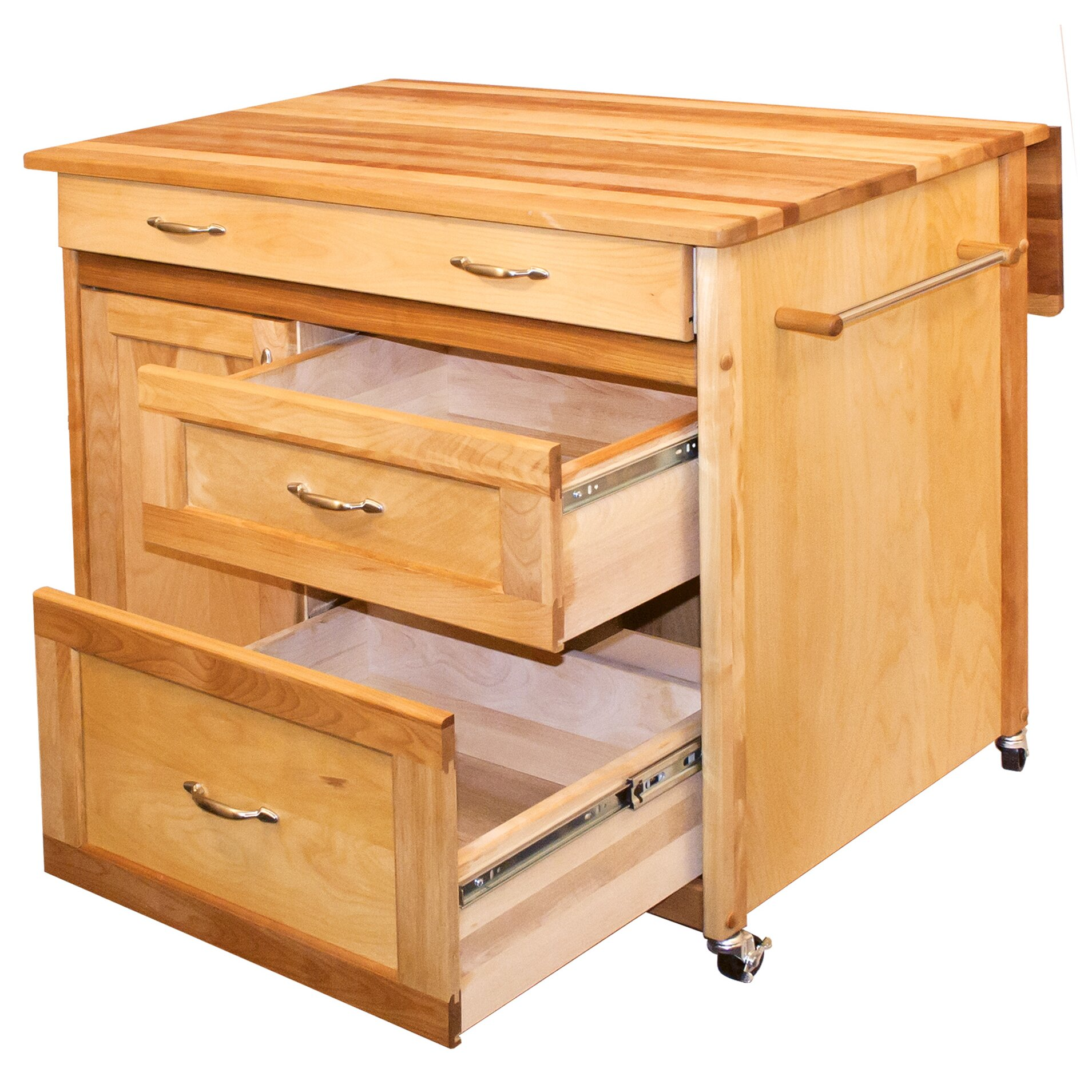 catskill craftsmen kitchen island catskill craftsmen kitchen island with butcher block top 5141