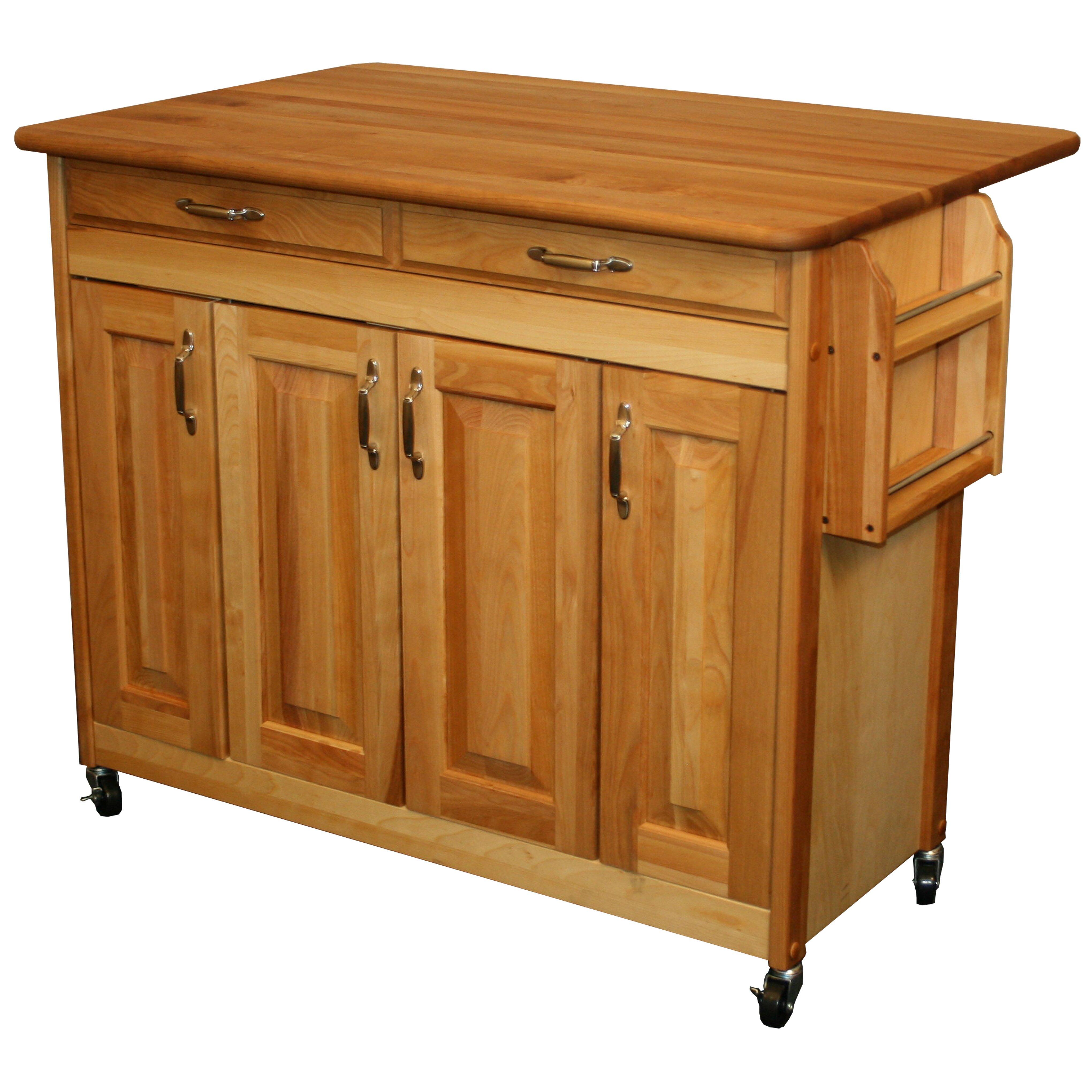 Catskill craftsmen kitchen island reviews wayfair - Kitchen island ...
