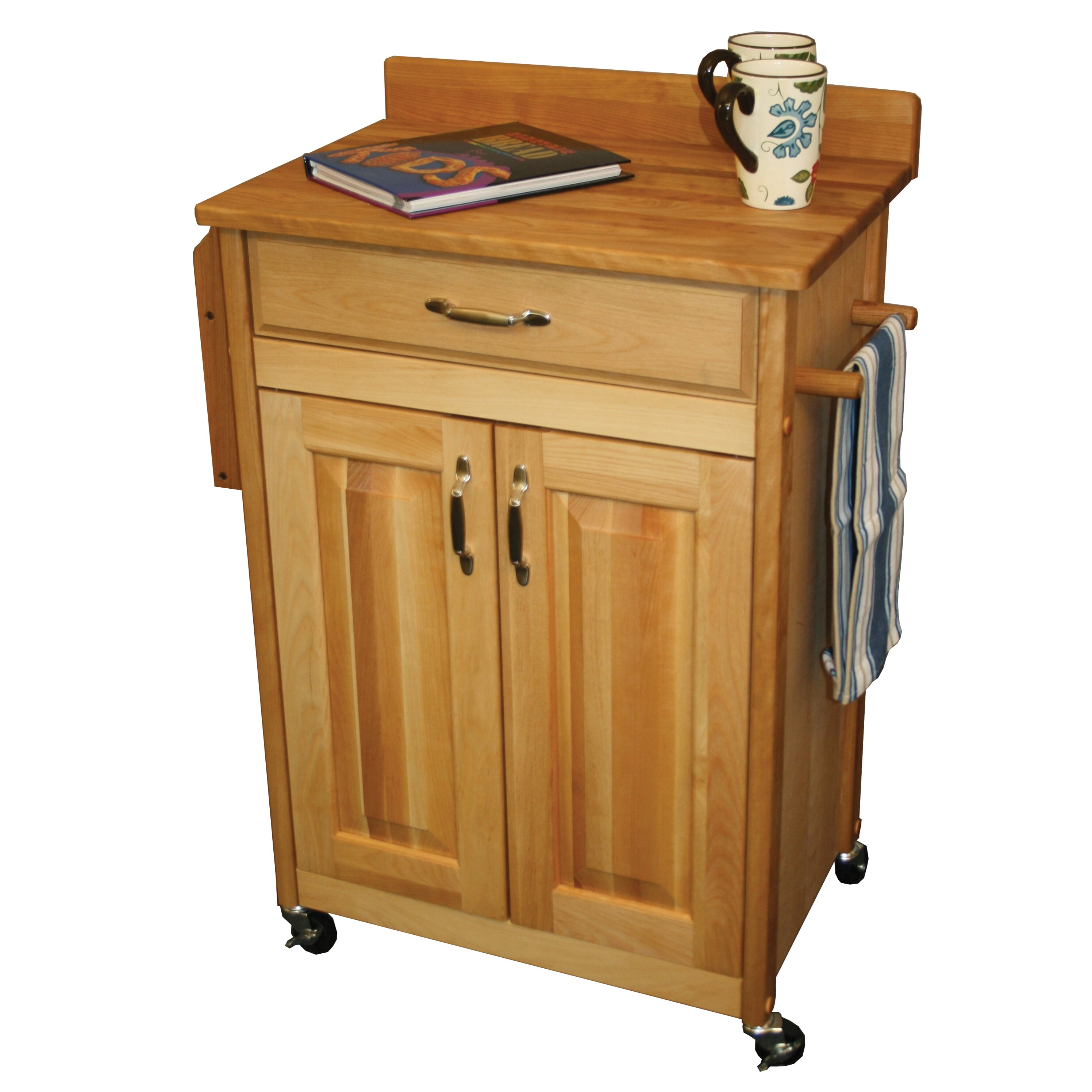 Catskill Craftsmen Kitchen Cart Amp Reviews Wayfair