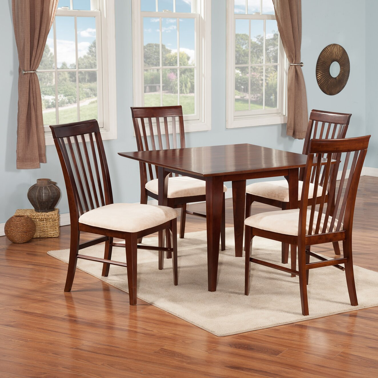 Atlantic furniture montreal 5 piece dining set reviews for Dining room tables montreal