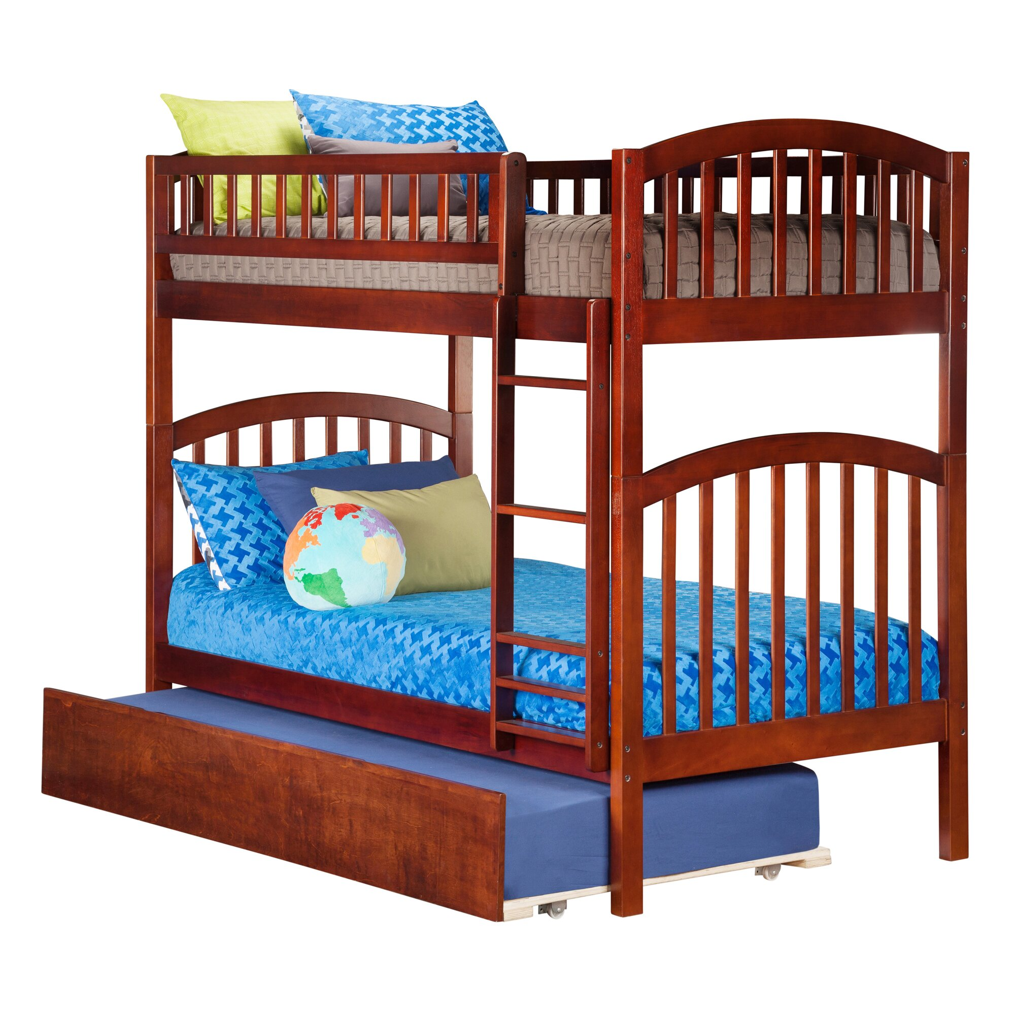 Atlantic Furniture Richland Twin Bunk Bed Reviews Wayfair