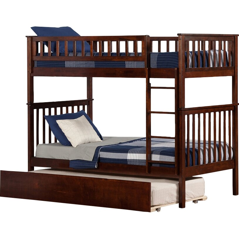 atlantic furniture woodland twin over twin bunk bed with trundle atlantic furniture orleans transitional twin open foot