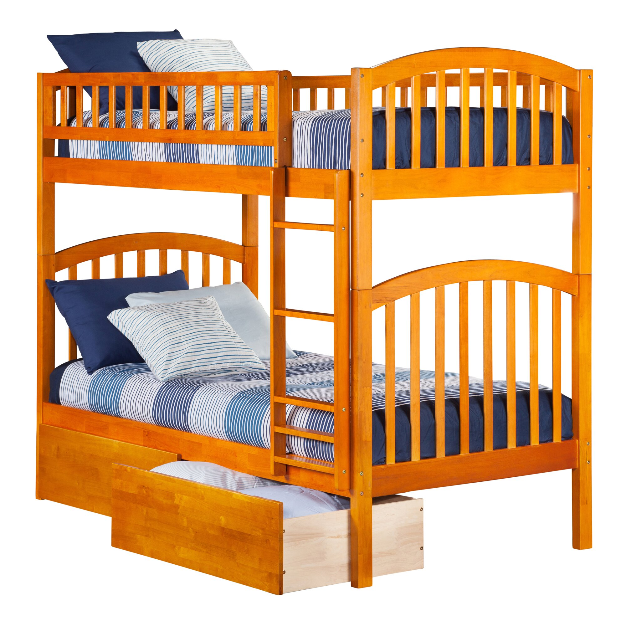 Atlantic Furniture Richland Twin Bunk Bed Reviews Wayfair