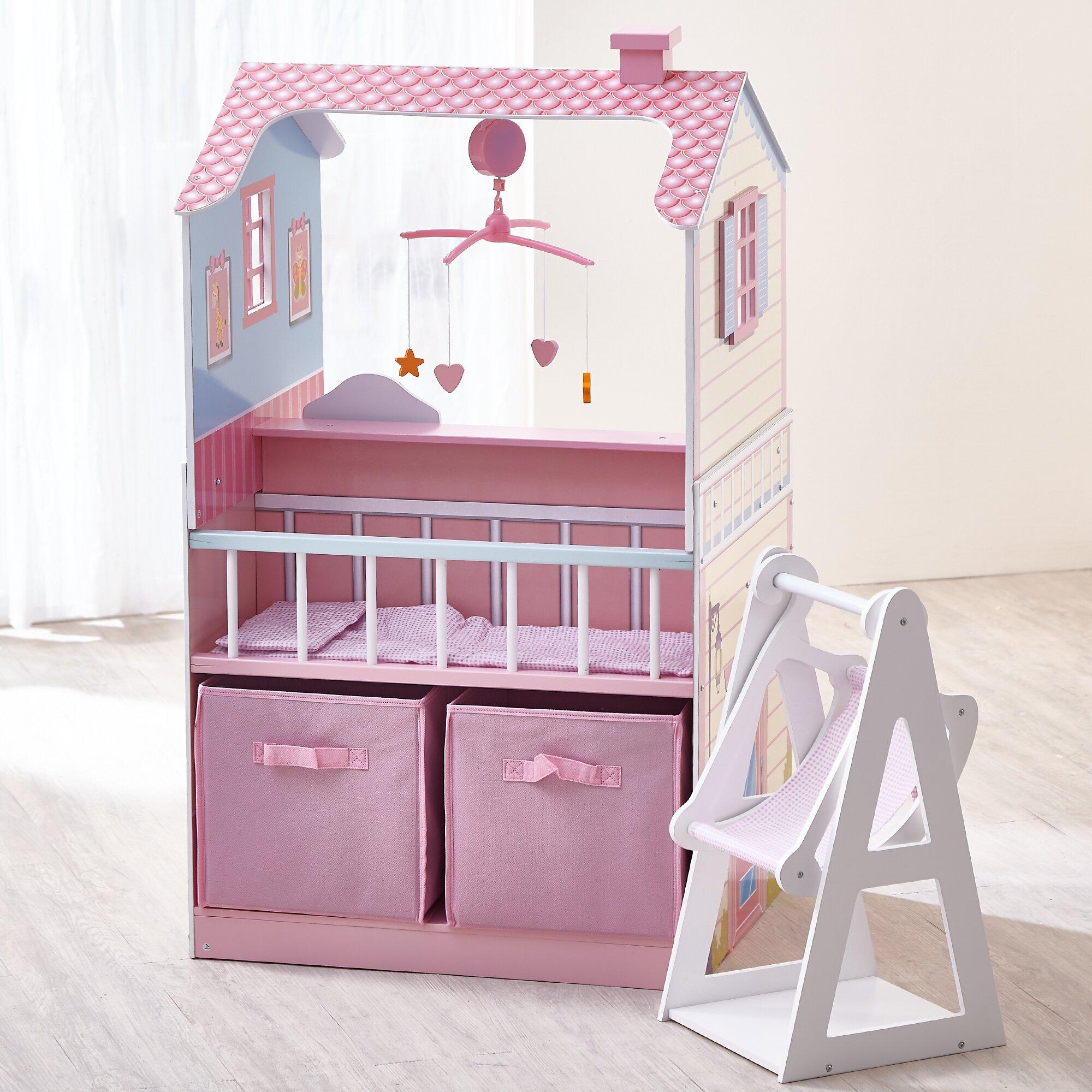 Teamson Kids Baby Nursery Doll House Amp Reviews Wayfair