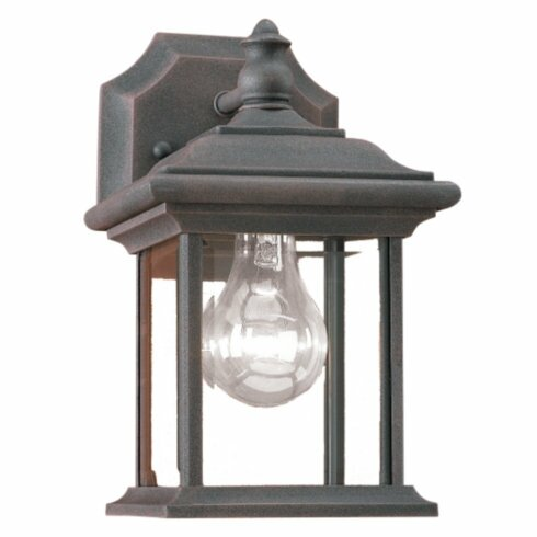 Sea Gull Lighting William 1 Light Outdoor Wall Lantern & Reviews Wayfair