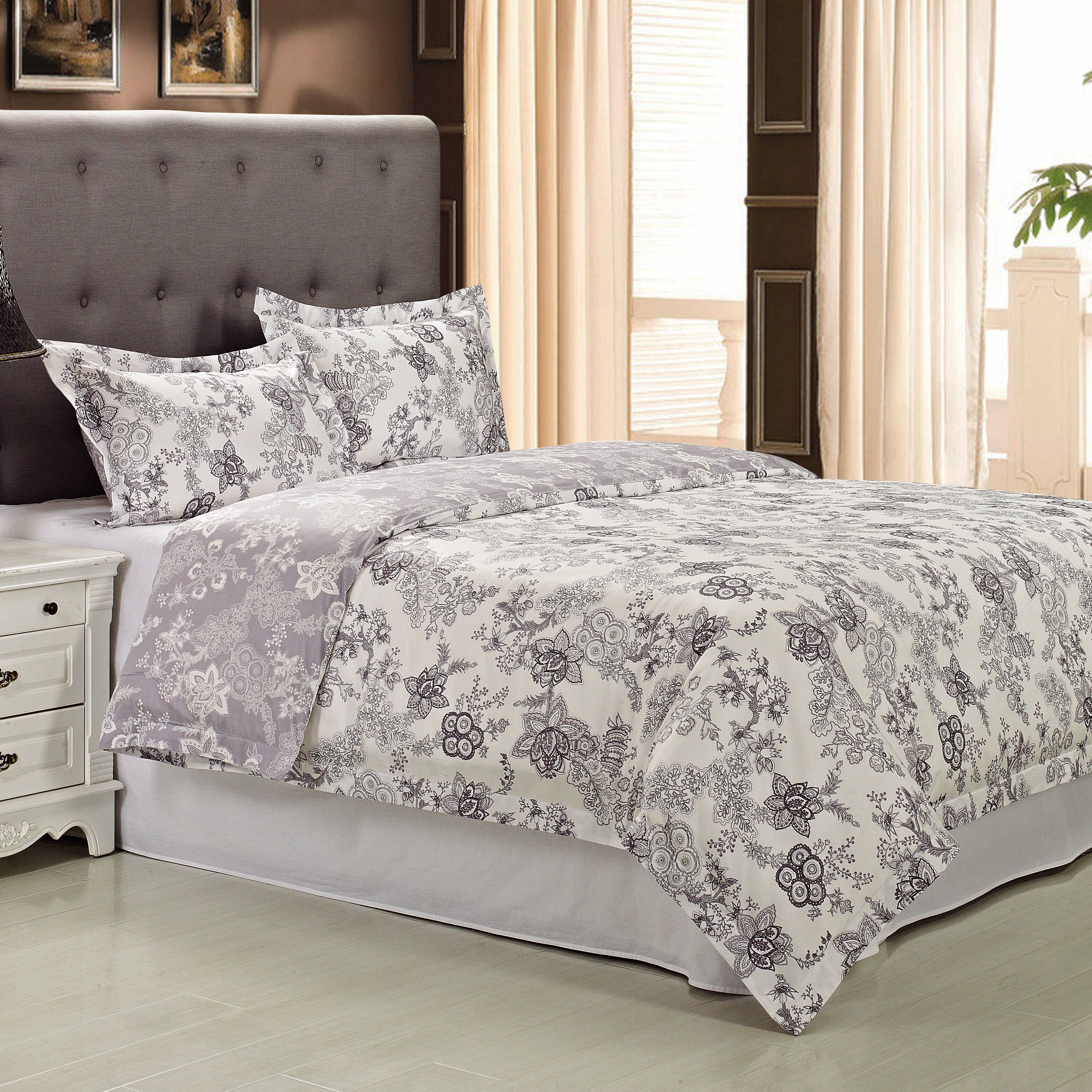 Simple Luxury Blossom 3 Piece Duvet Cover Set Reviews