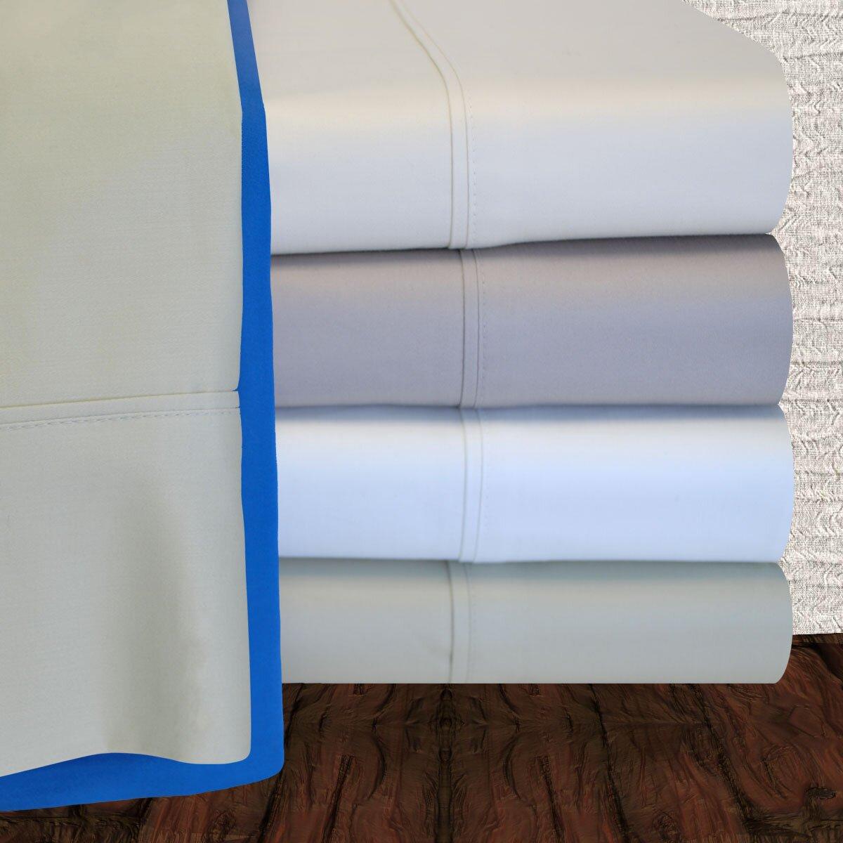 simple luxury 900 thread count cotton sheet set reviews wayfair. Black Bedroom Furniture Sets. Home Design Ideas