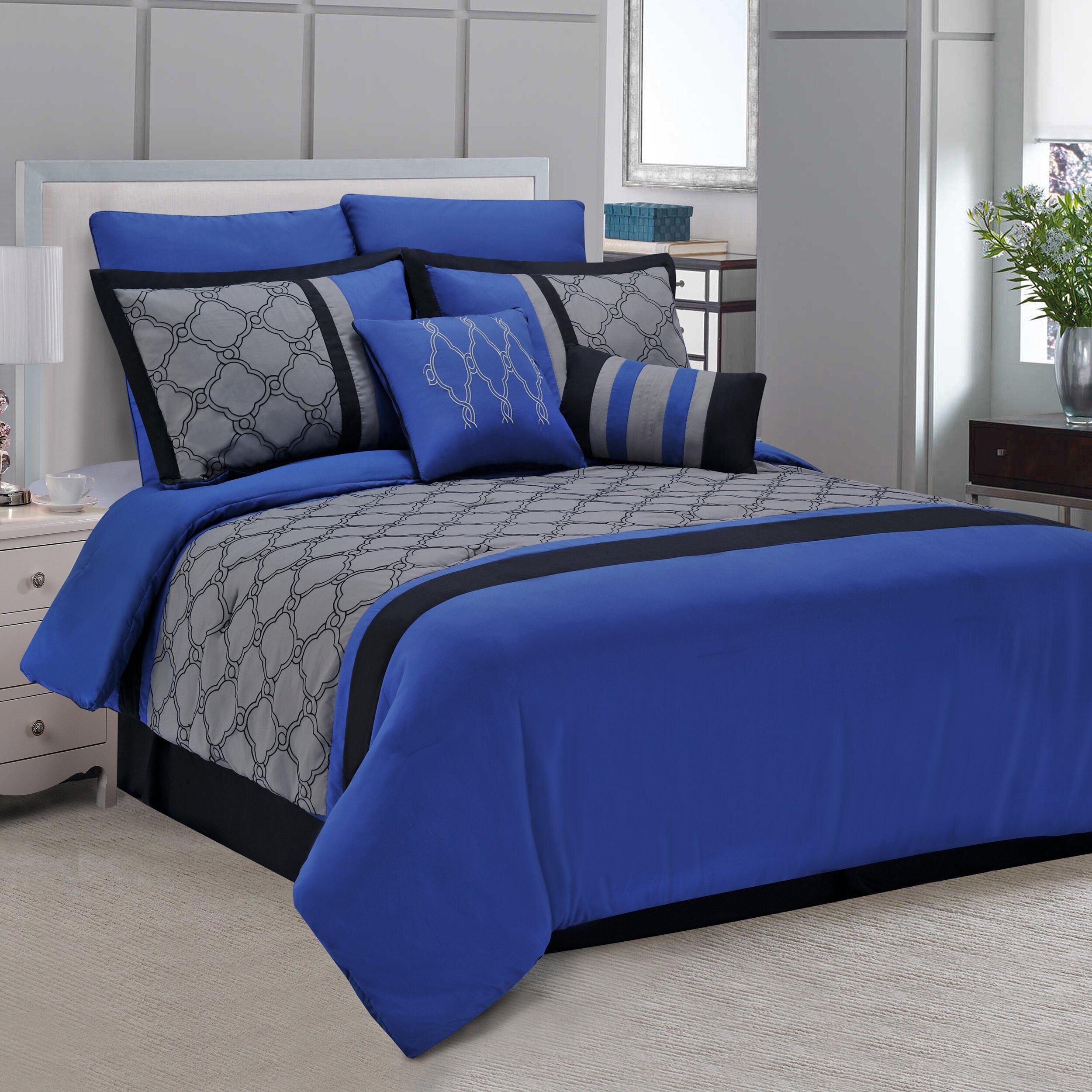 Simple Luxury Maxfield 8 Piece Comforter Set Amp Reviews