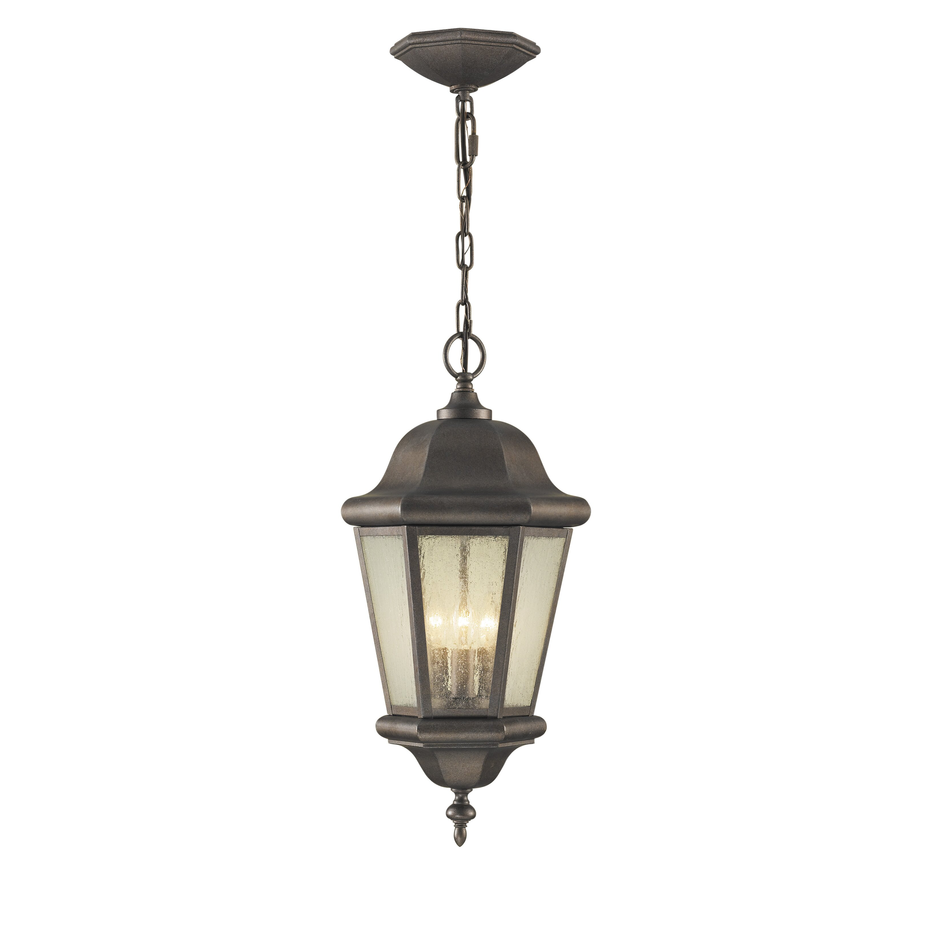 Feiss Martinsville 3 Light Outdoor Hanging Lantern