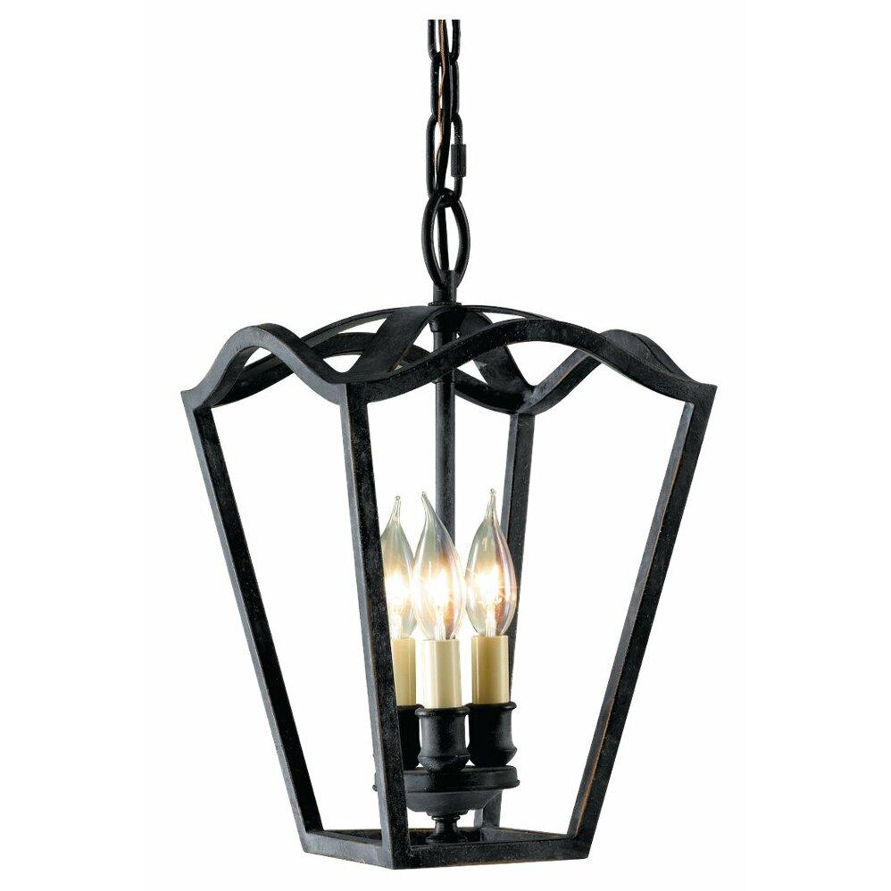 Foyer Table Lighting : Feiss king s table light foyer pendant reviews wayfair