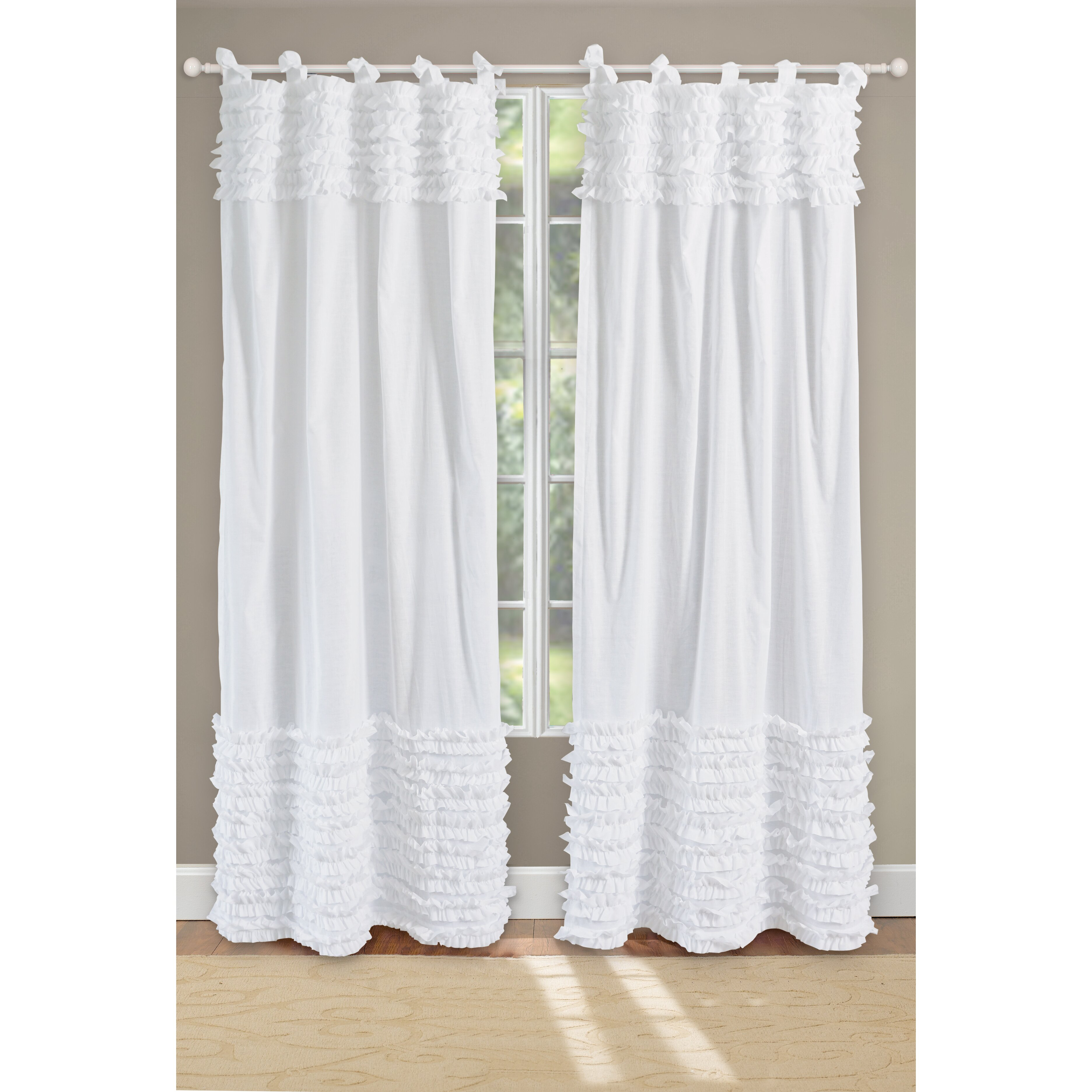 Greenland Home Fashions Lush Curtain Panels Reviews