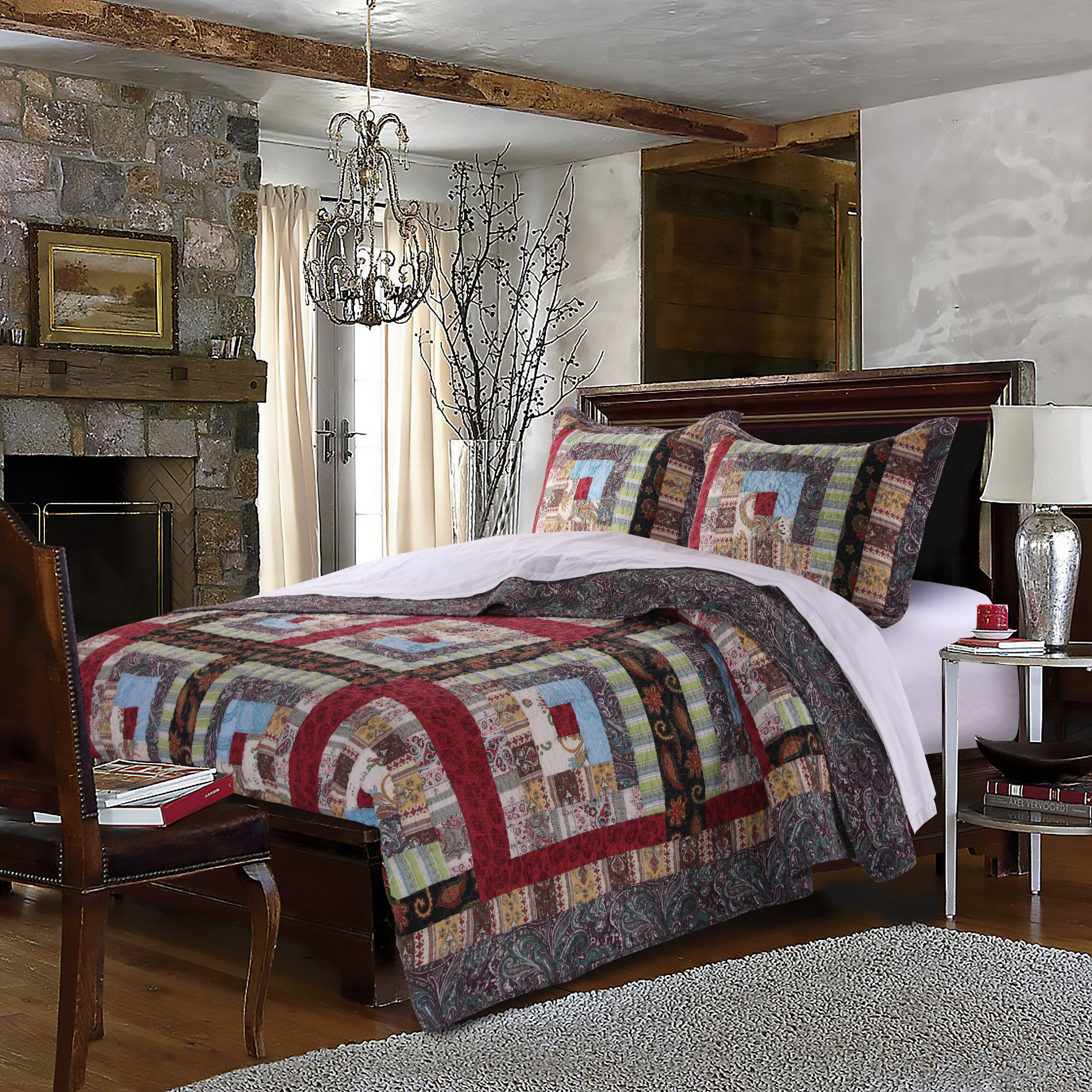 Greenland Home Fashions Colorado Lodge Reversible Quilt