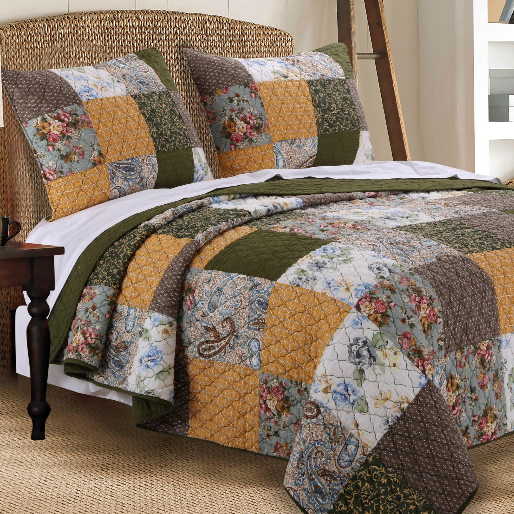 Greenland Home Fashions Cedar Creek Quilt Set Reviews